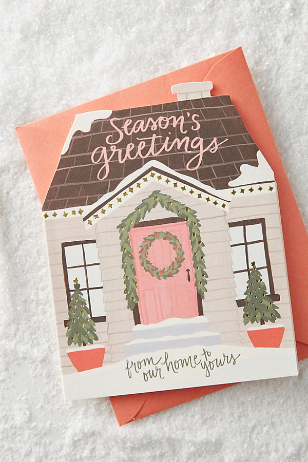 holiday card anthropologie seasons greetings
