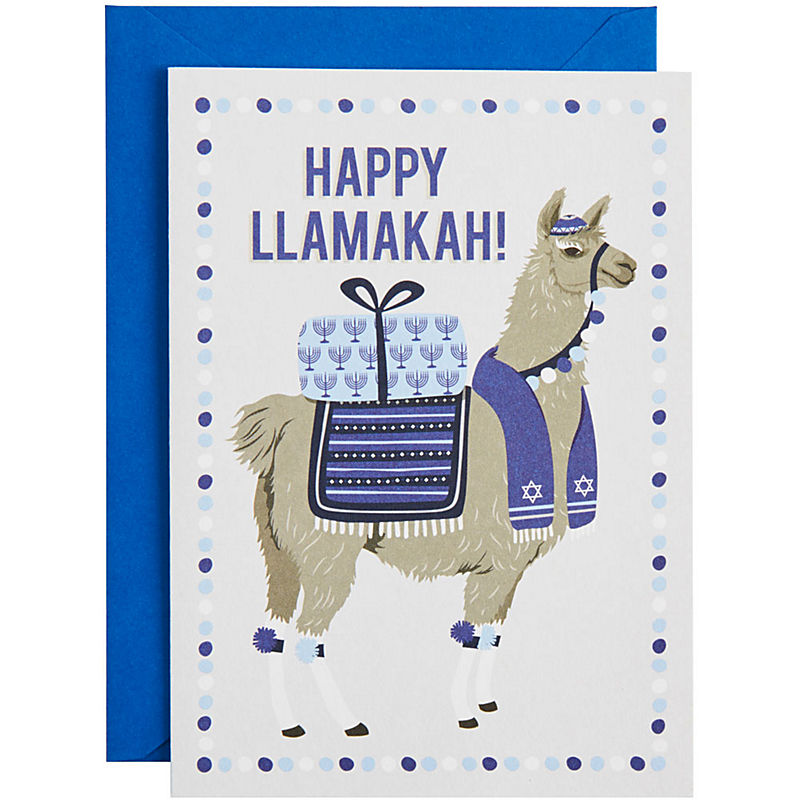 holiday card paper sorce happy llamakah