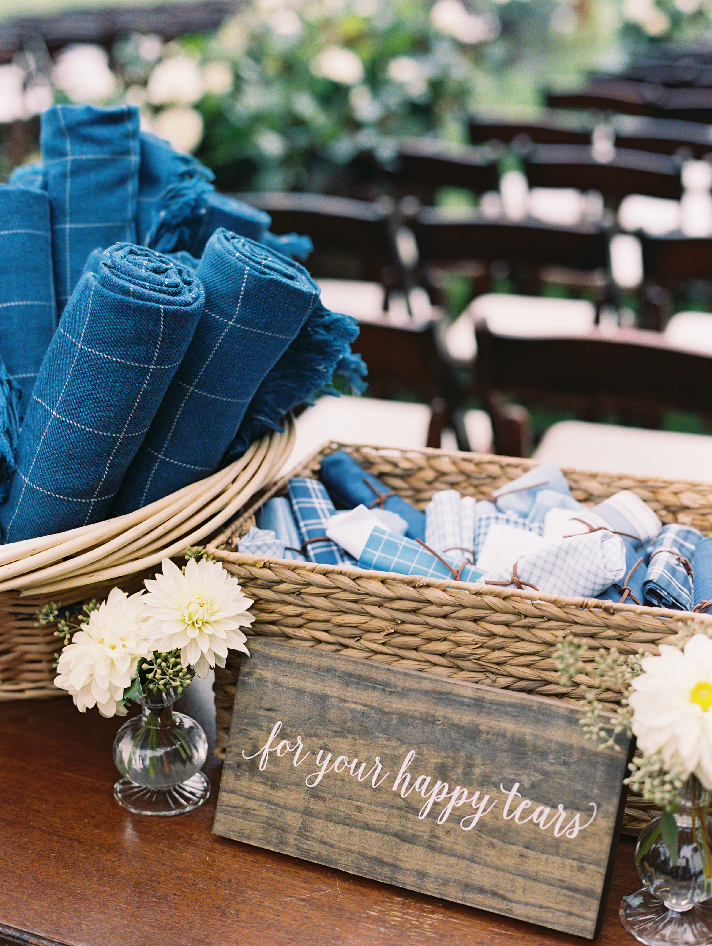 kendall nick wedding blankets hankies