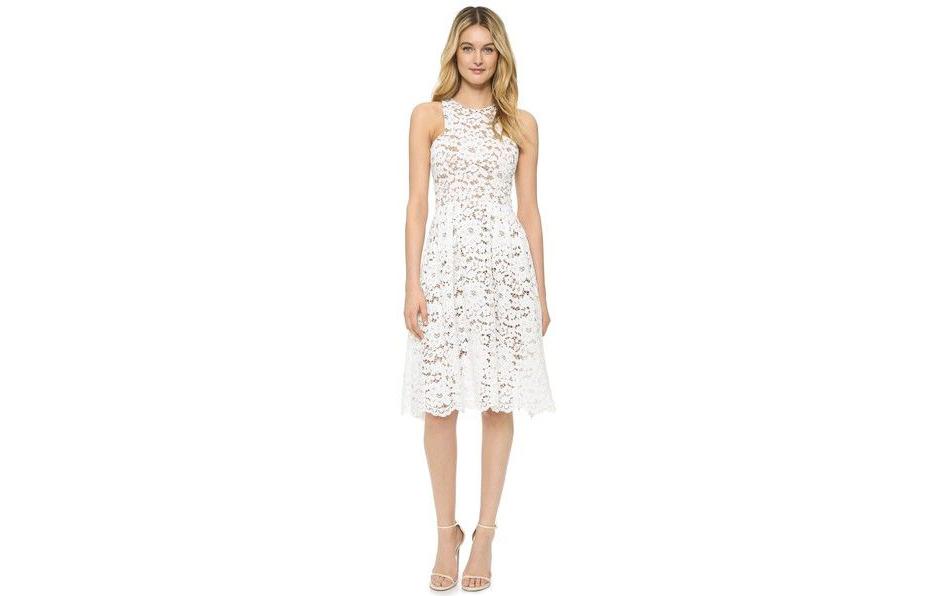engagement party dress shopbop white lace