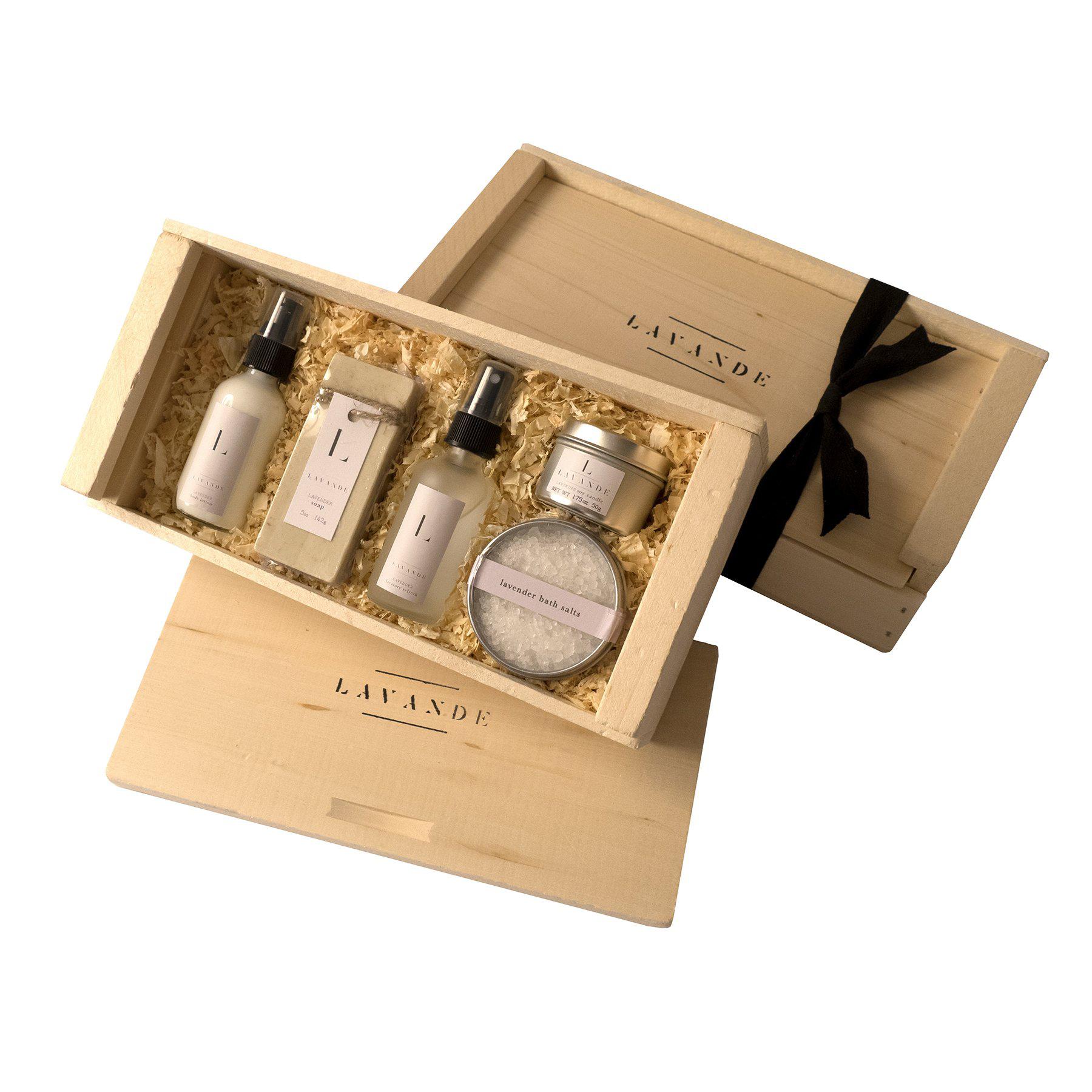 under 50 gift ideas bath essential box