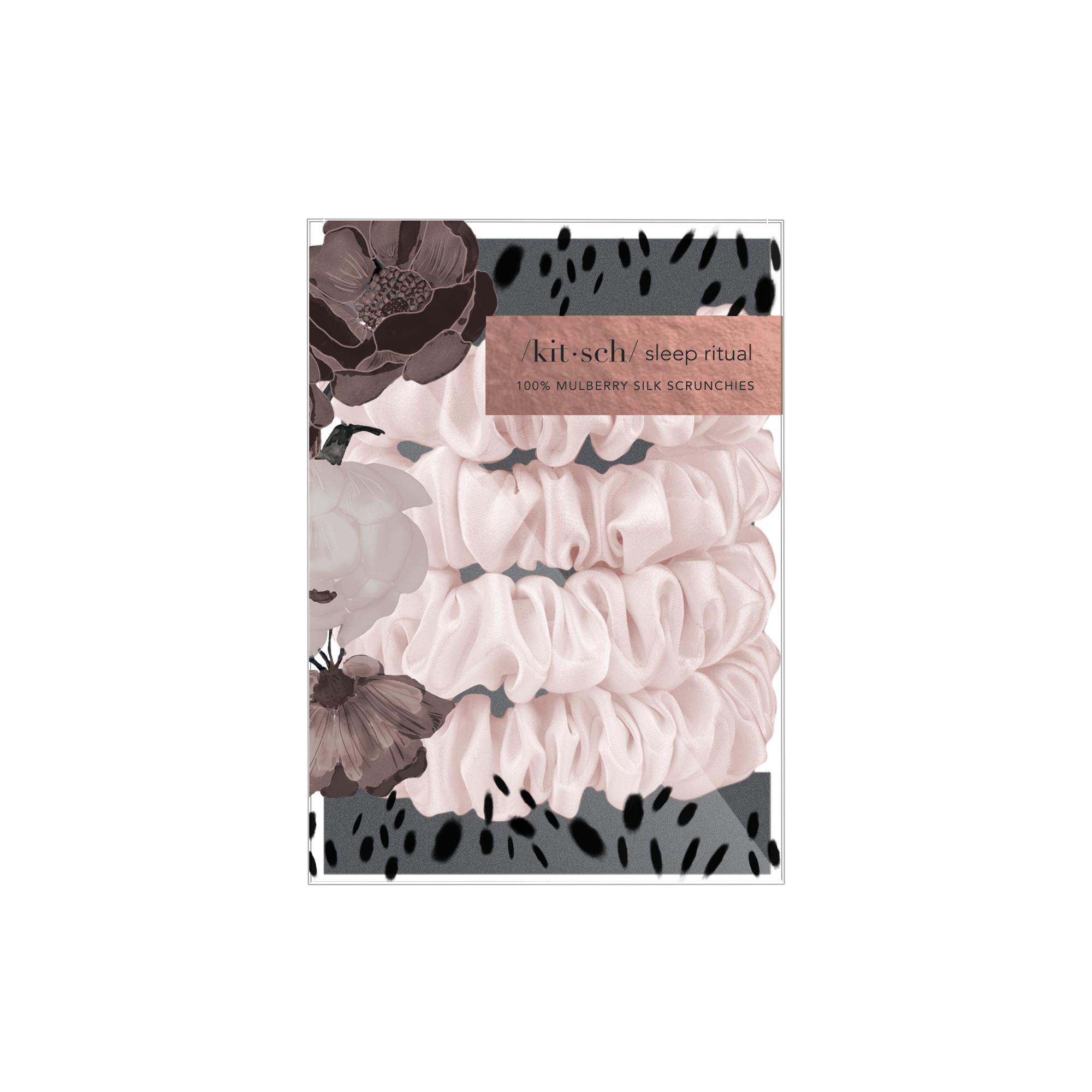 kitsch mulberry silk scrunchies