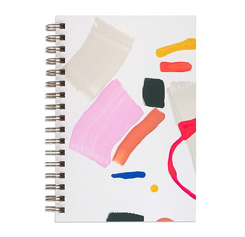 under 50 gift ideas bath painted chipboard-covered notebooks