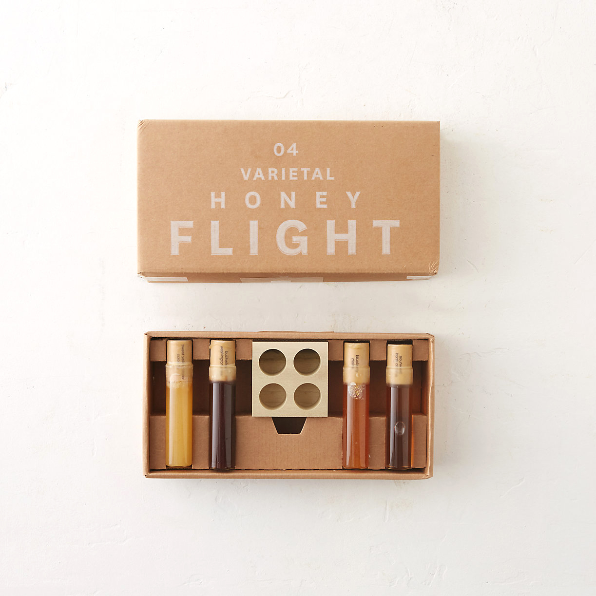 gifts 50 gifts raw honey flight in glass vials