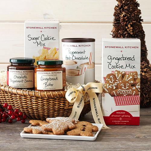 holiday gift box snacks