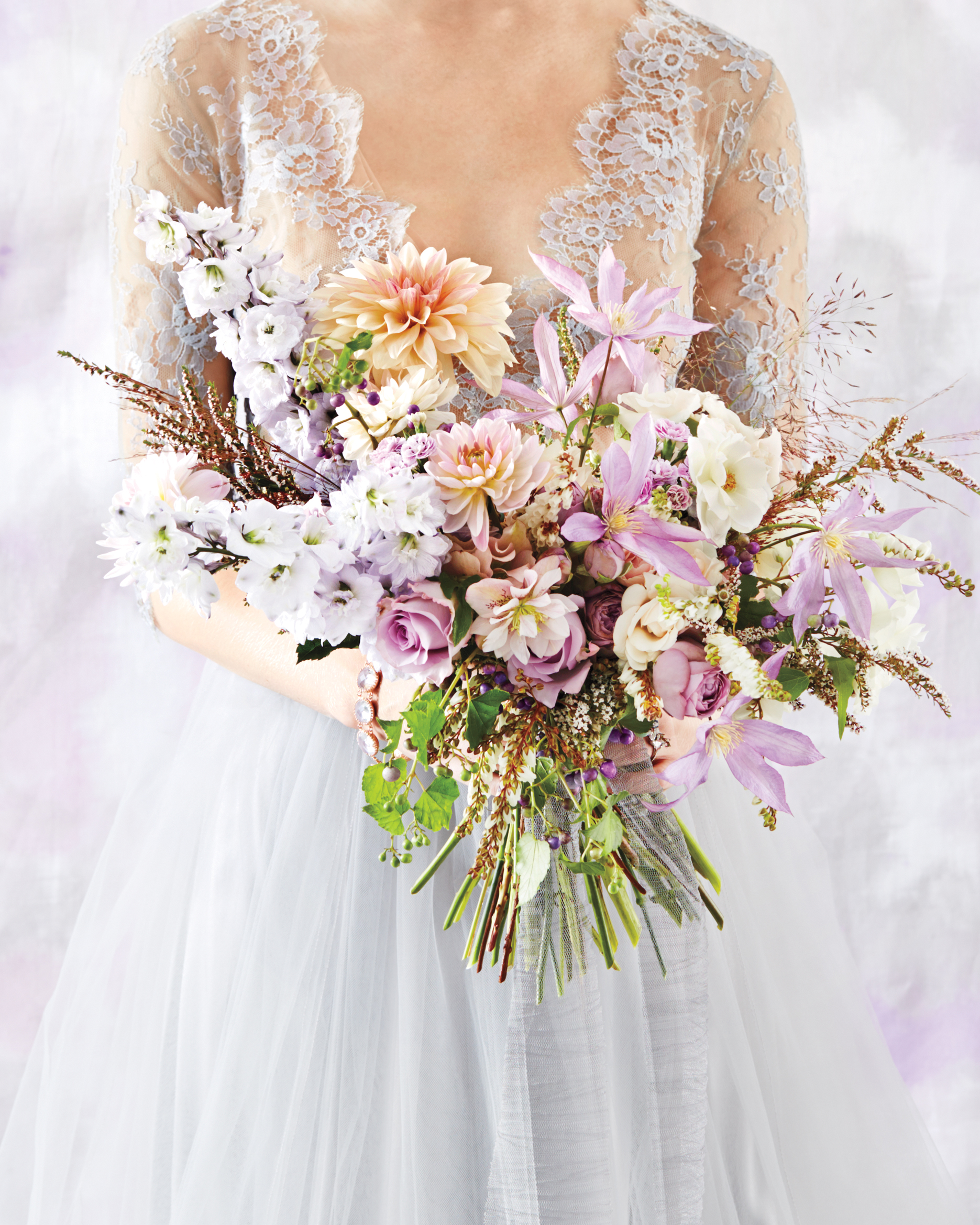 Lilac + Gray = The Most Romantic Wedding Colors Ever