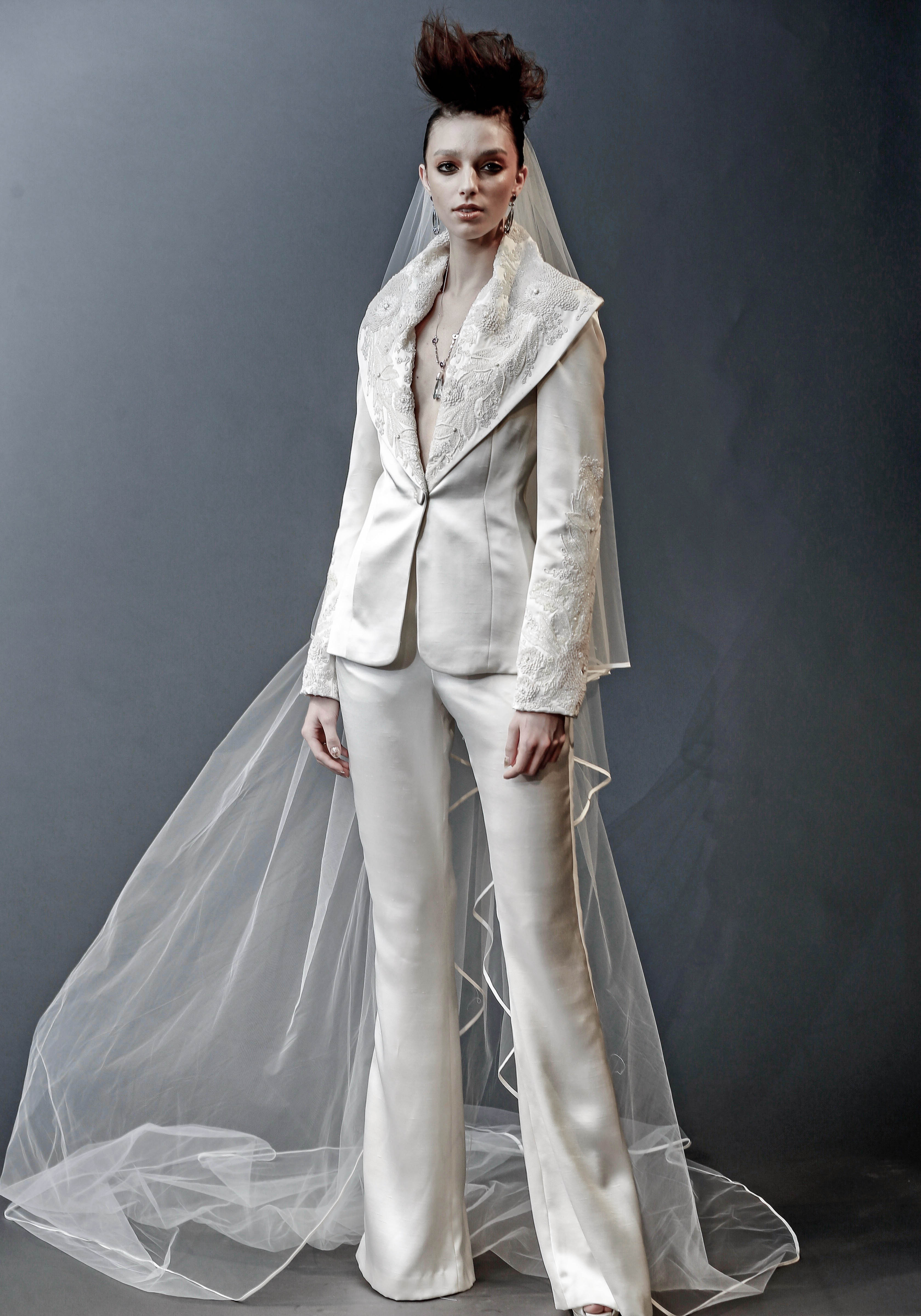 71 Chic Wedding Suits for Brides | Martha Stewart Weddings