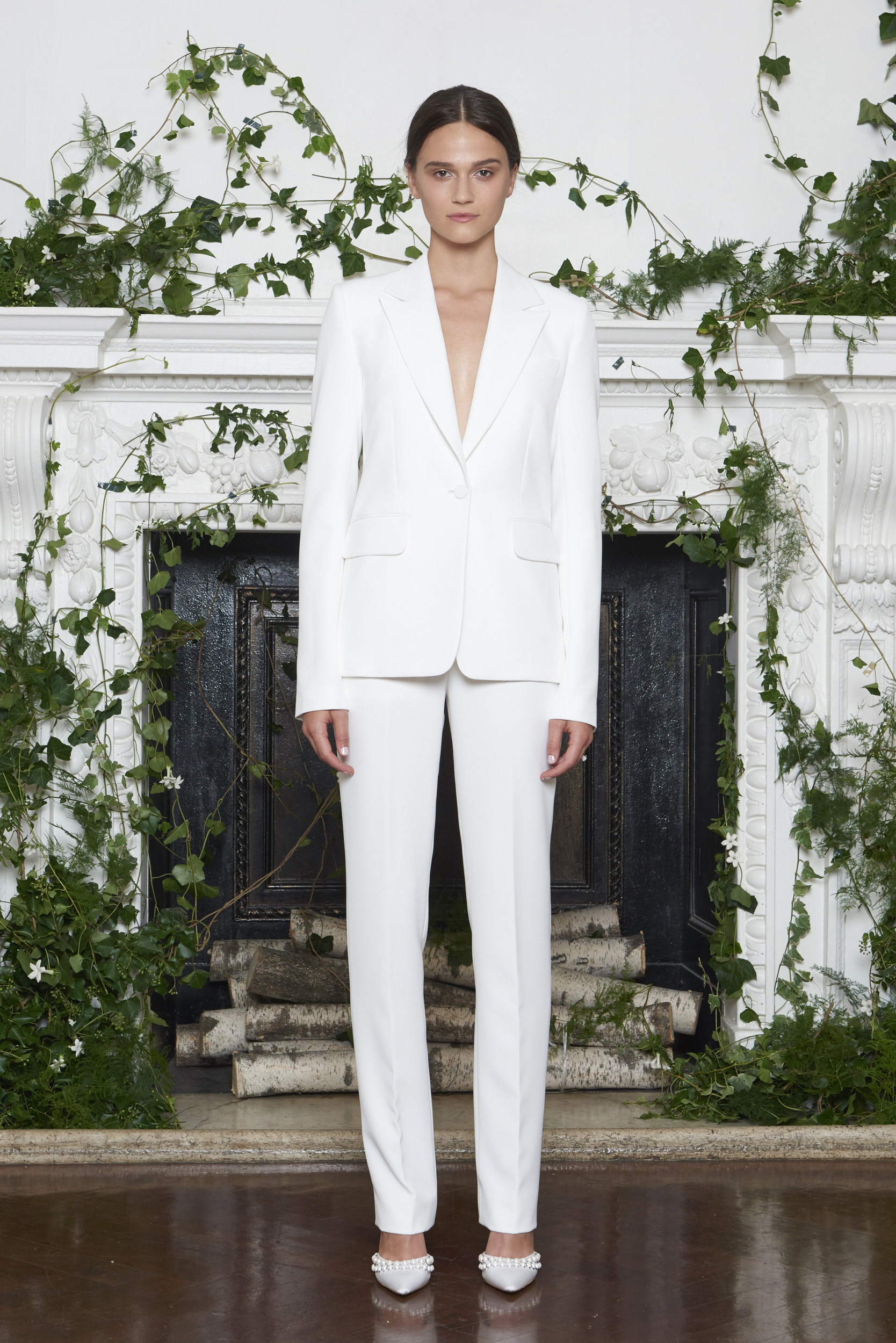 on feet images of new products for latest trends of 2019 71 Chic Wedding Suits for Brides | Martha Stewart Weddings
