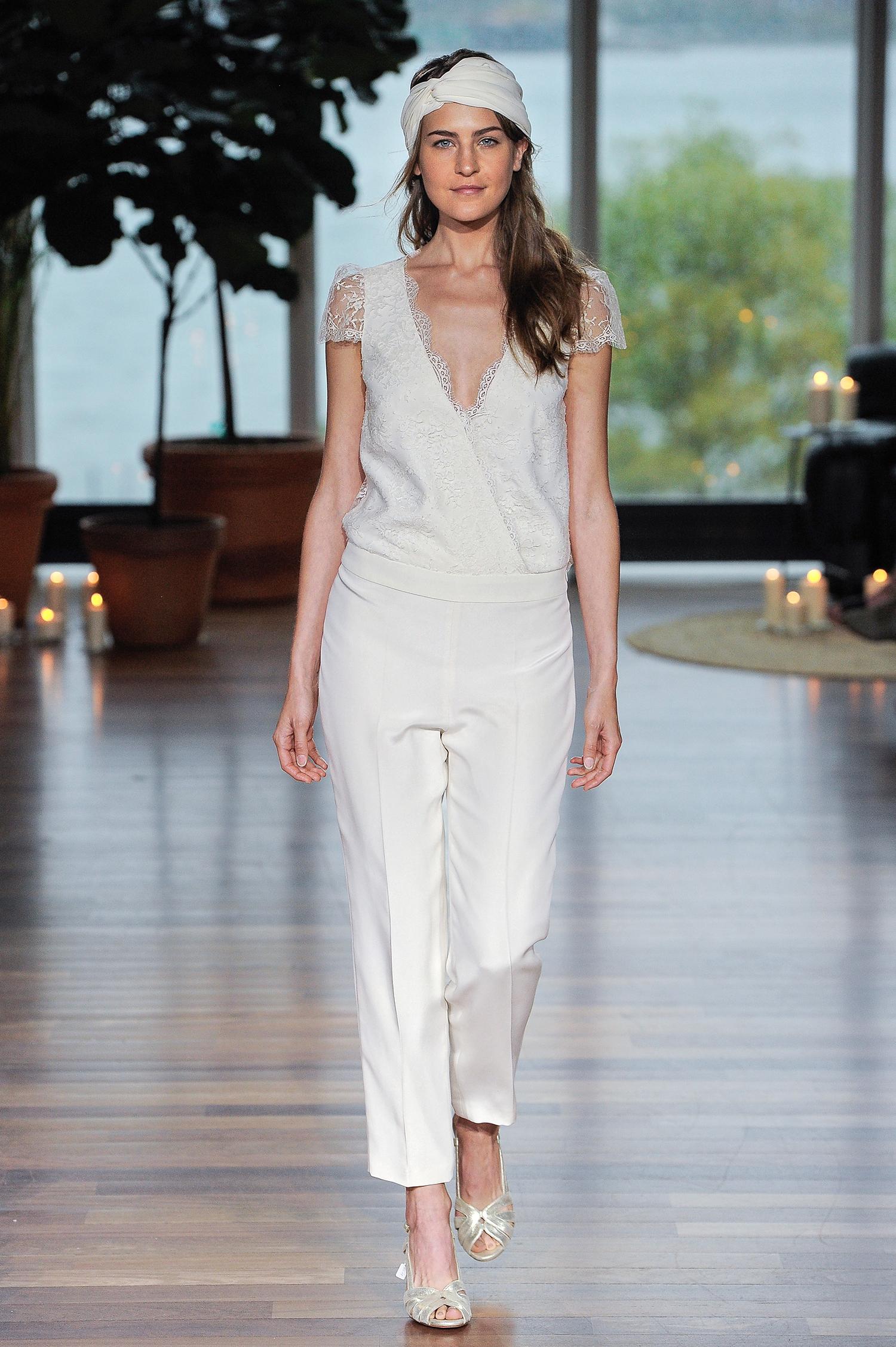 laure de sagazon fall 2018 asymmetrical closure jumpsuit