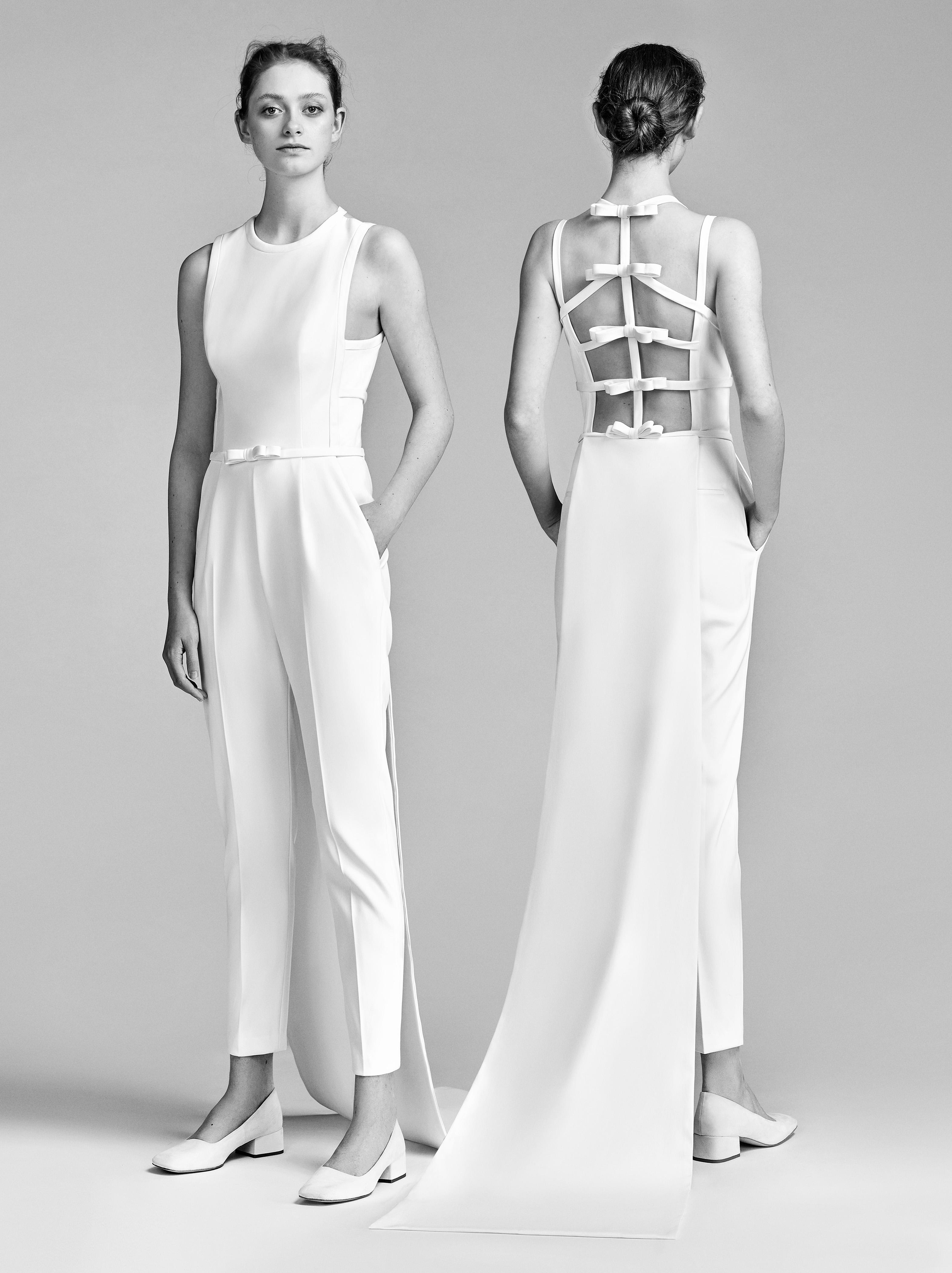 Viktor&Rolf Wedding Pant Outfit Spring 2018