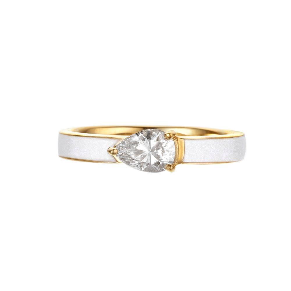 east west engagement rings helene