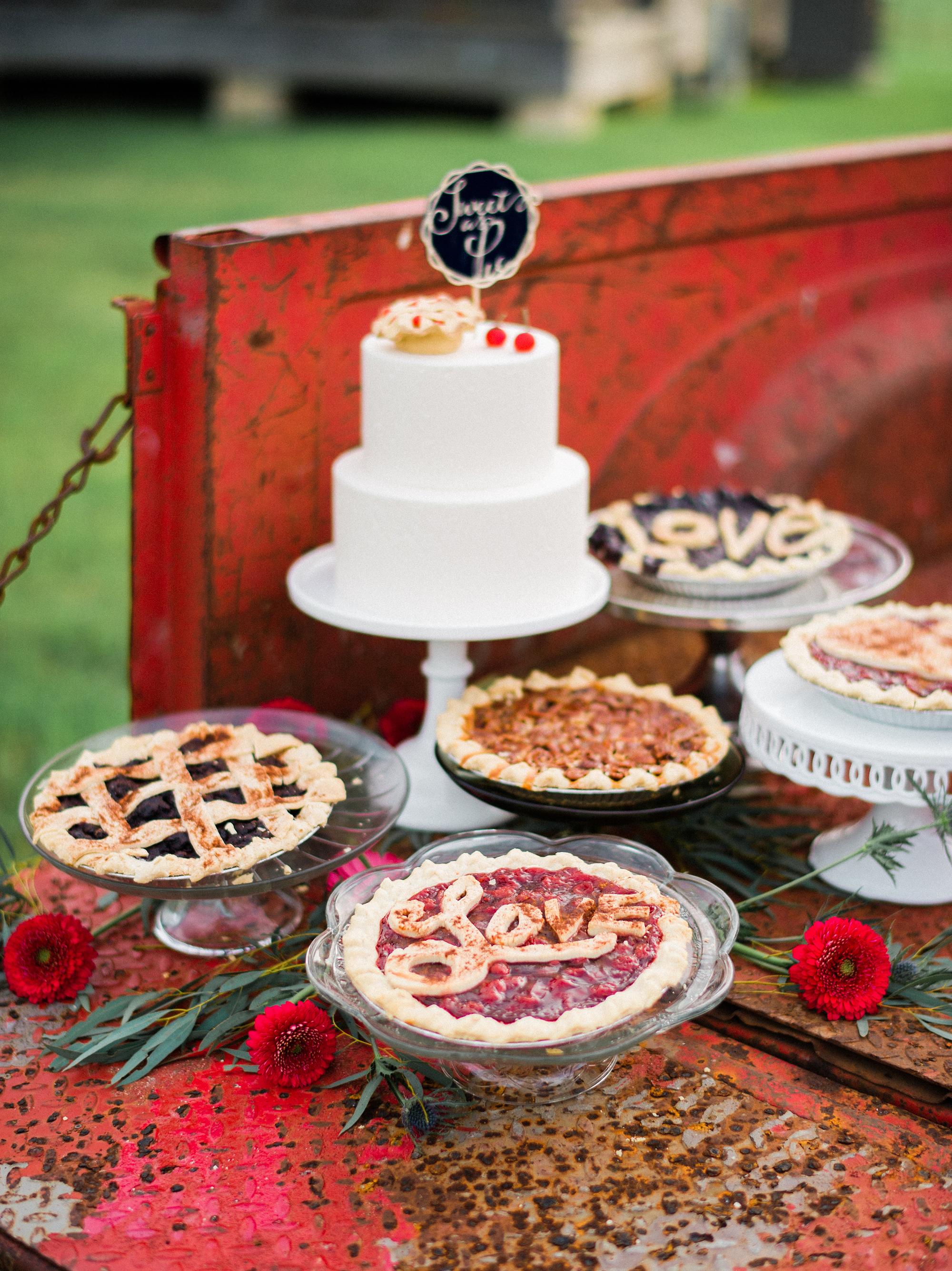 wedding pies paige budde