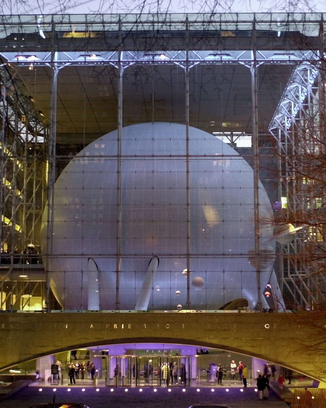 Hayden Planetarium at The American Museum of Natural History