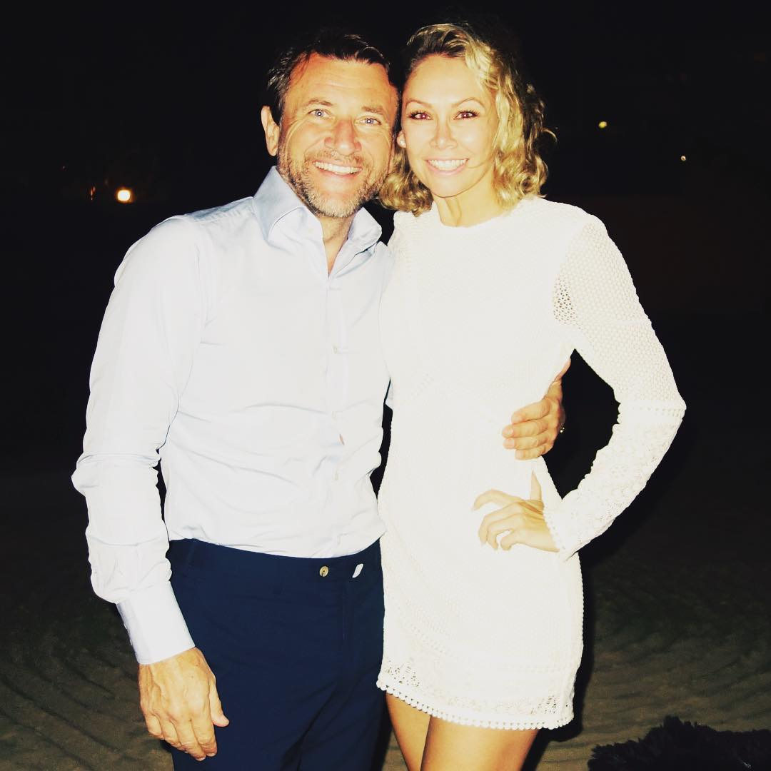 kym johnson robert herjavec engagement photo