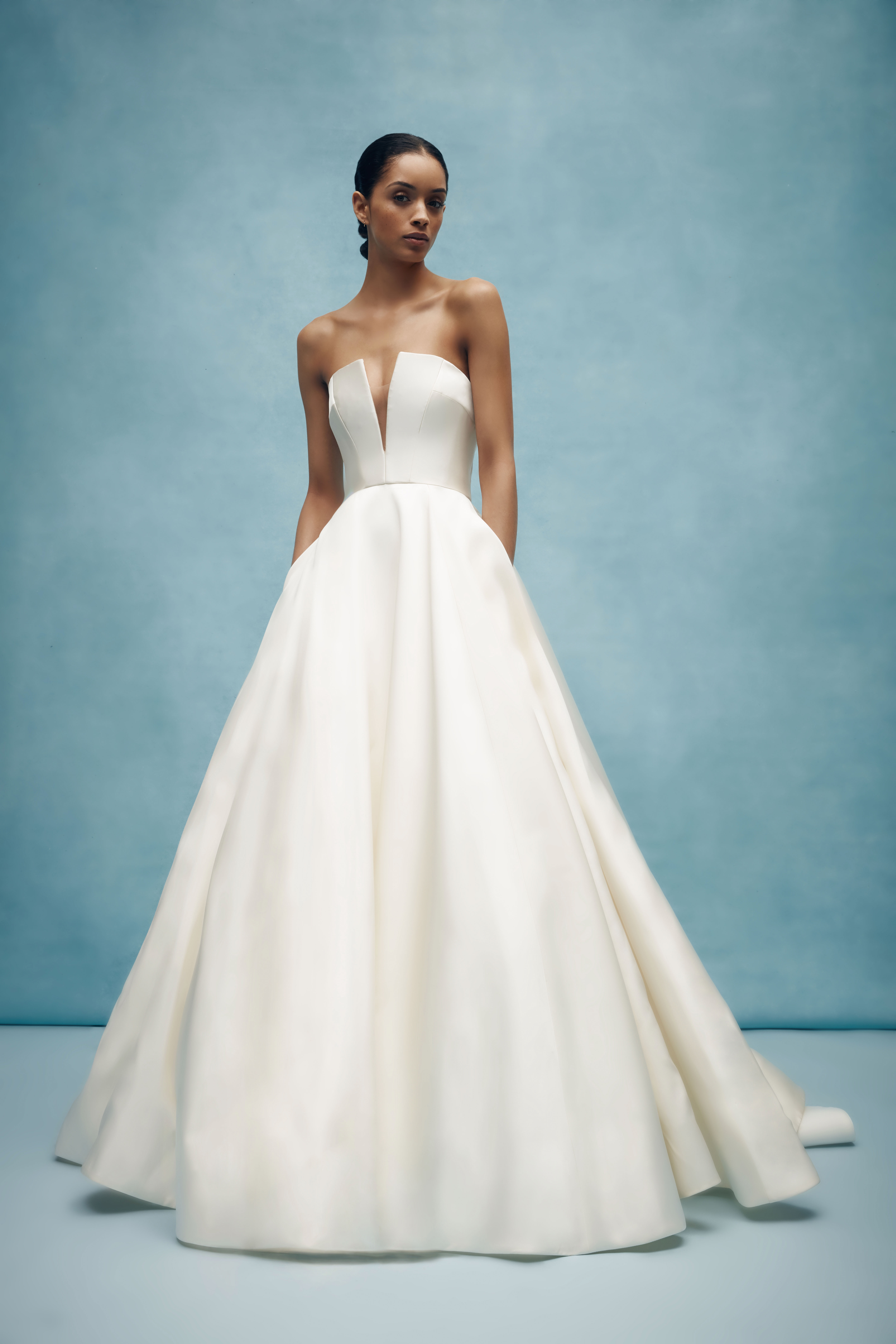 anne barge strapless ball gown wedding dress spring 2020
