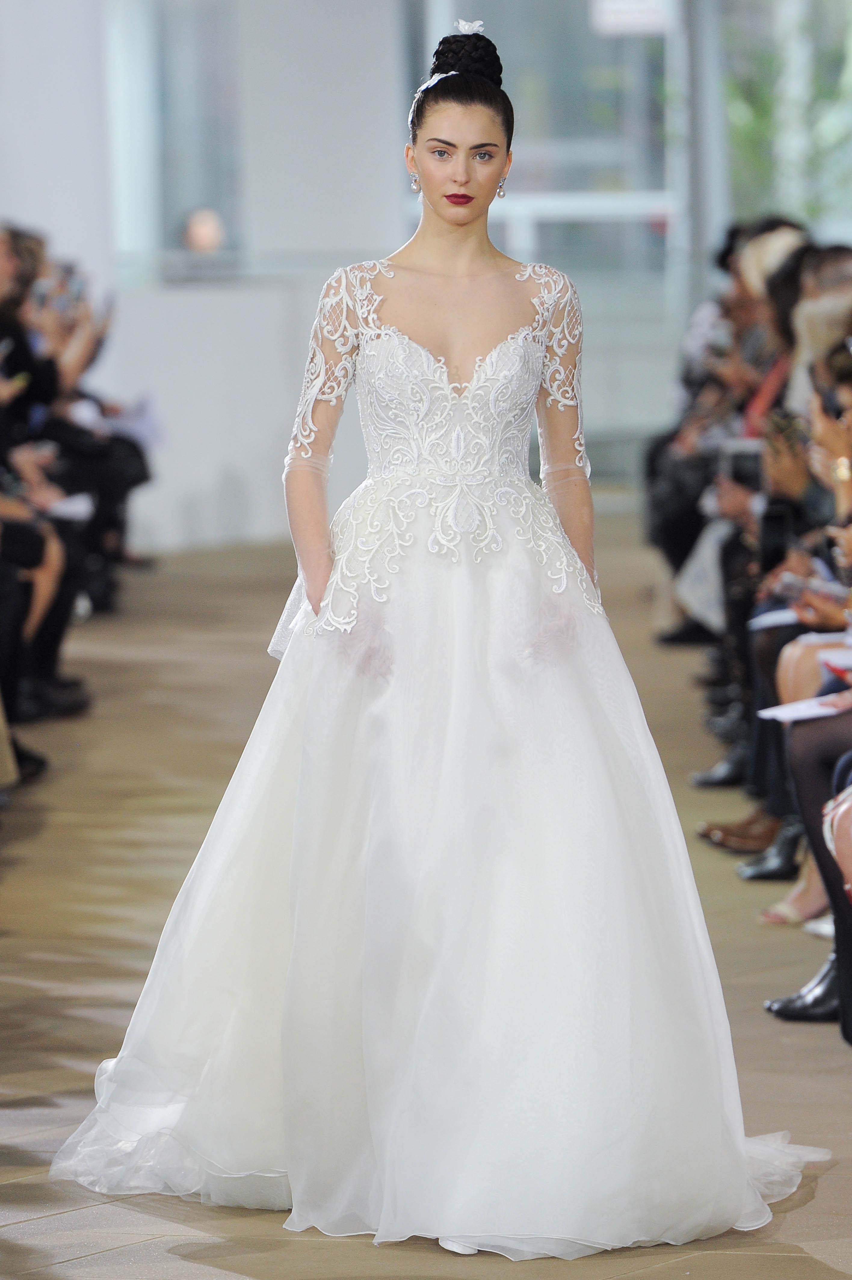 ines di santo wedding sweetheart dress spring 2018
