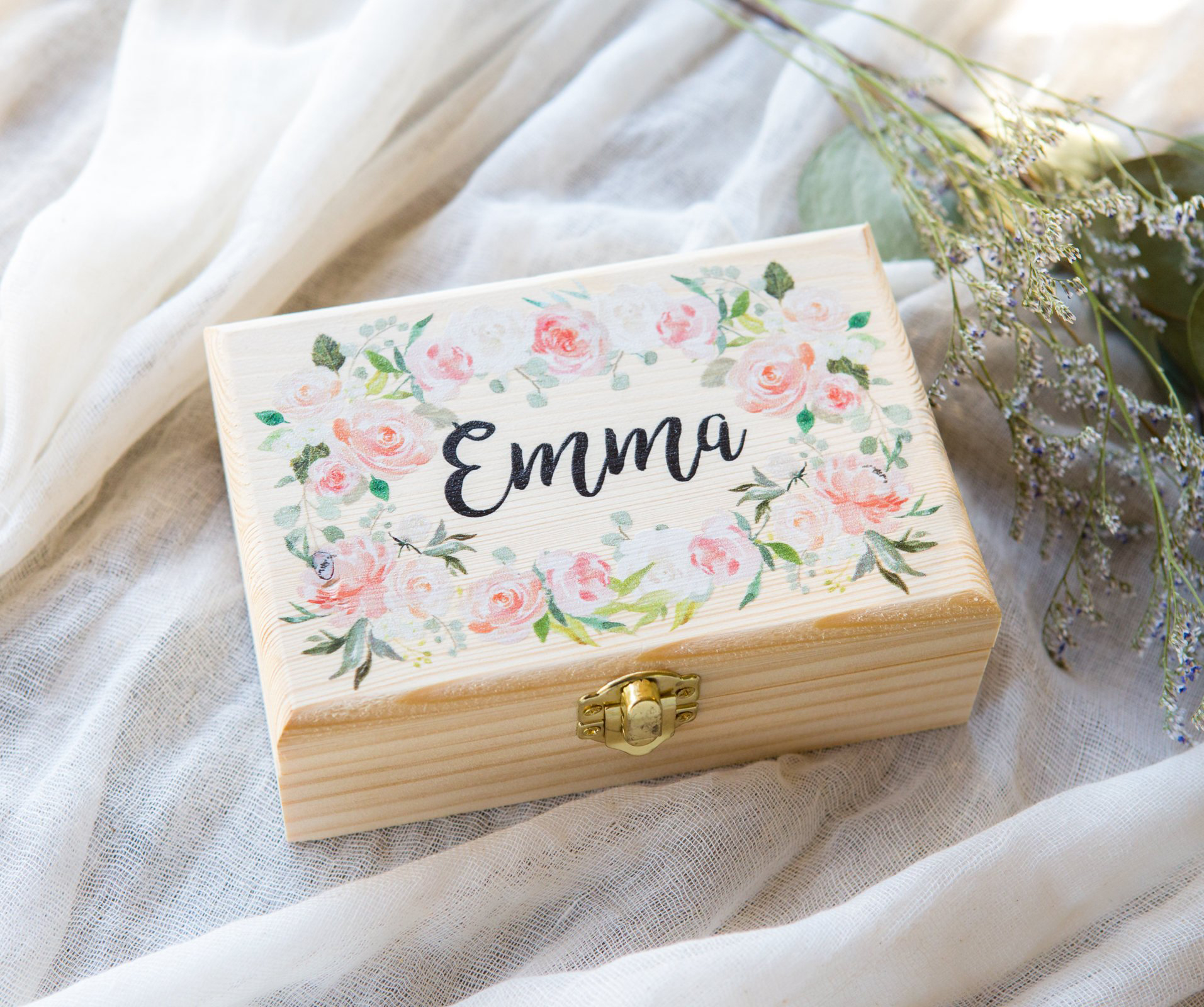 maid of honor proposal jewelry box