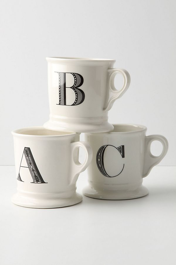 maid of honor proposal mugs with letters