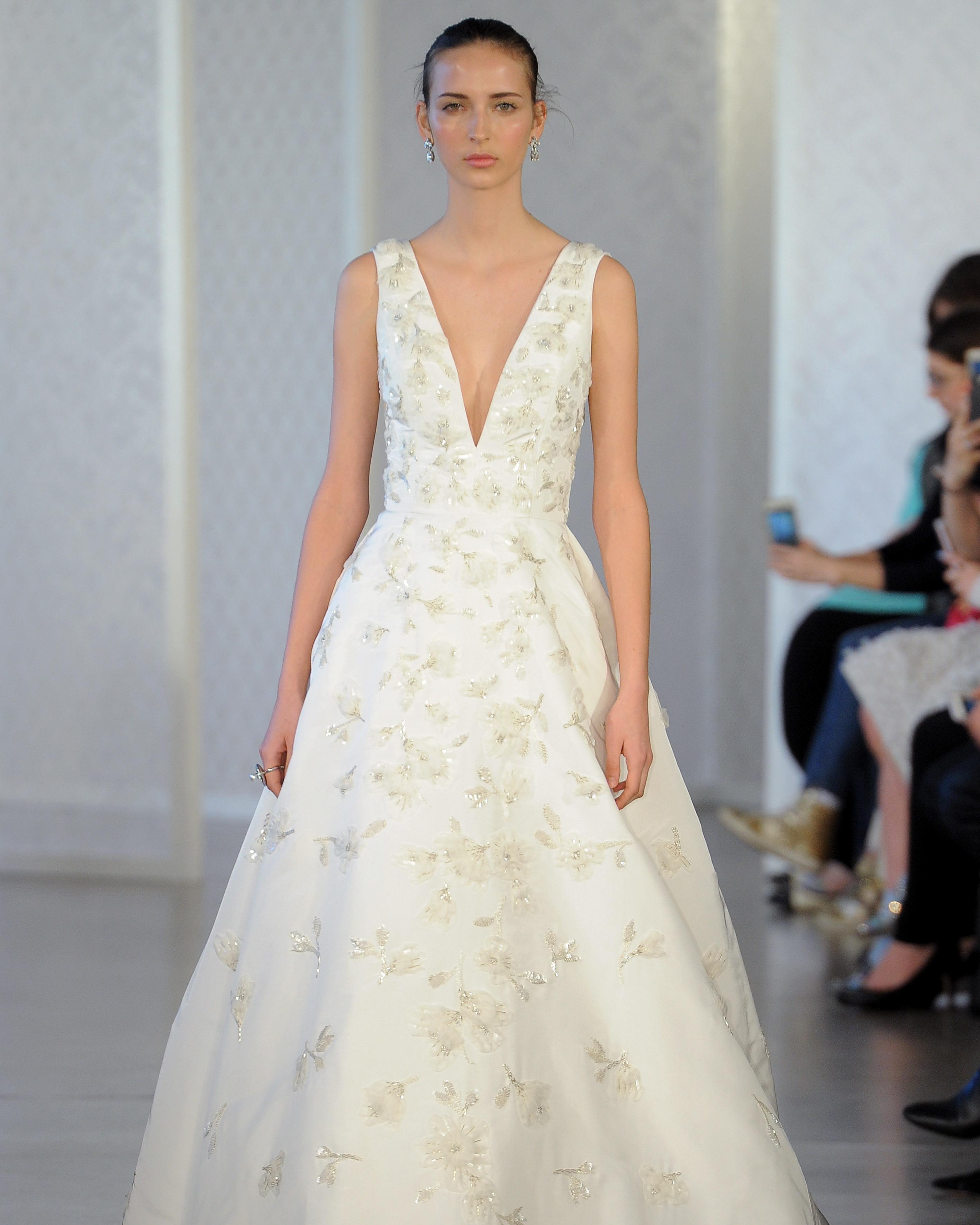 Oscar De La Renta Wedding Dresses.Oscar De La Renta Spring 2017 Wedding Dress Collection