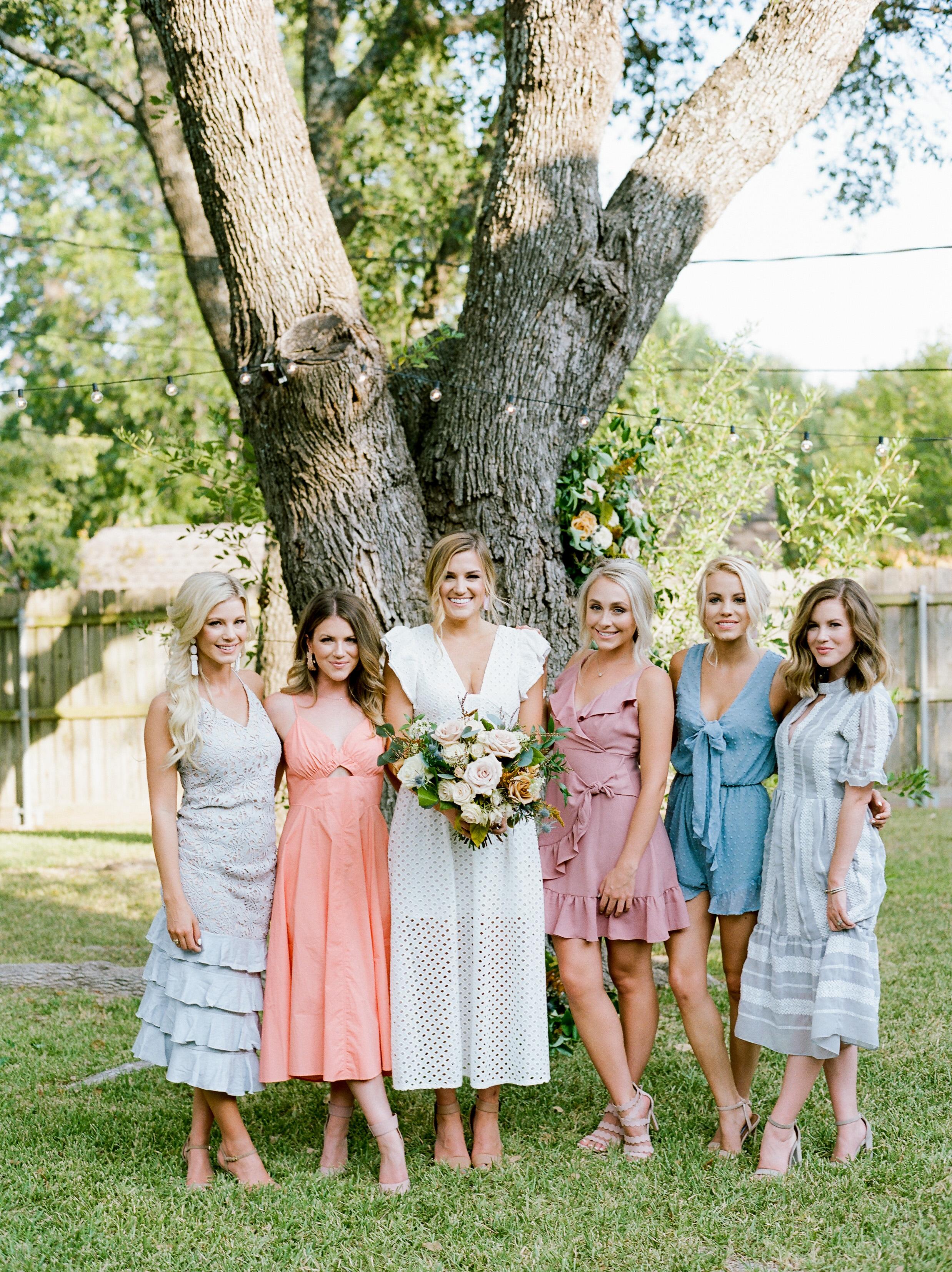 bridal shower guests