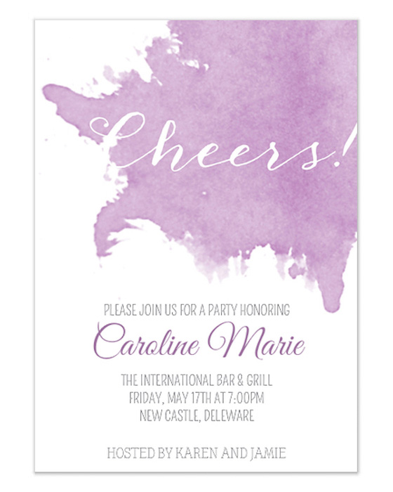 Watercolor Paperless Invitation
