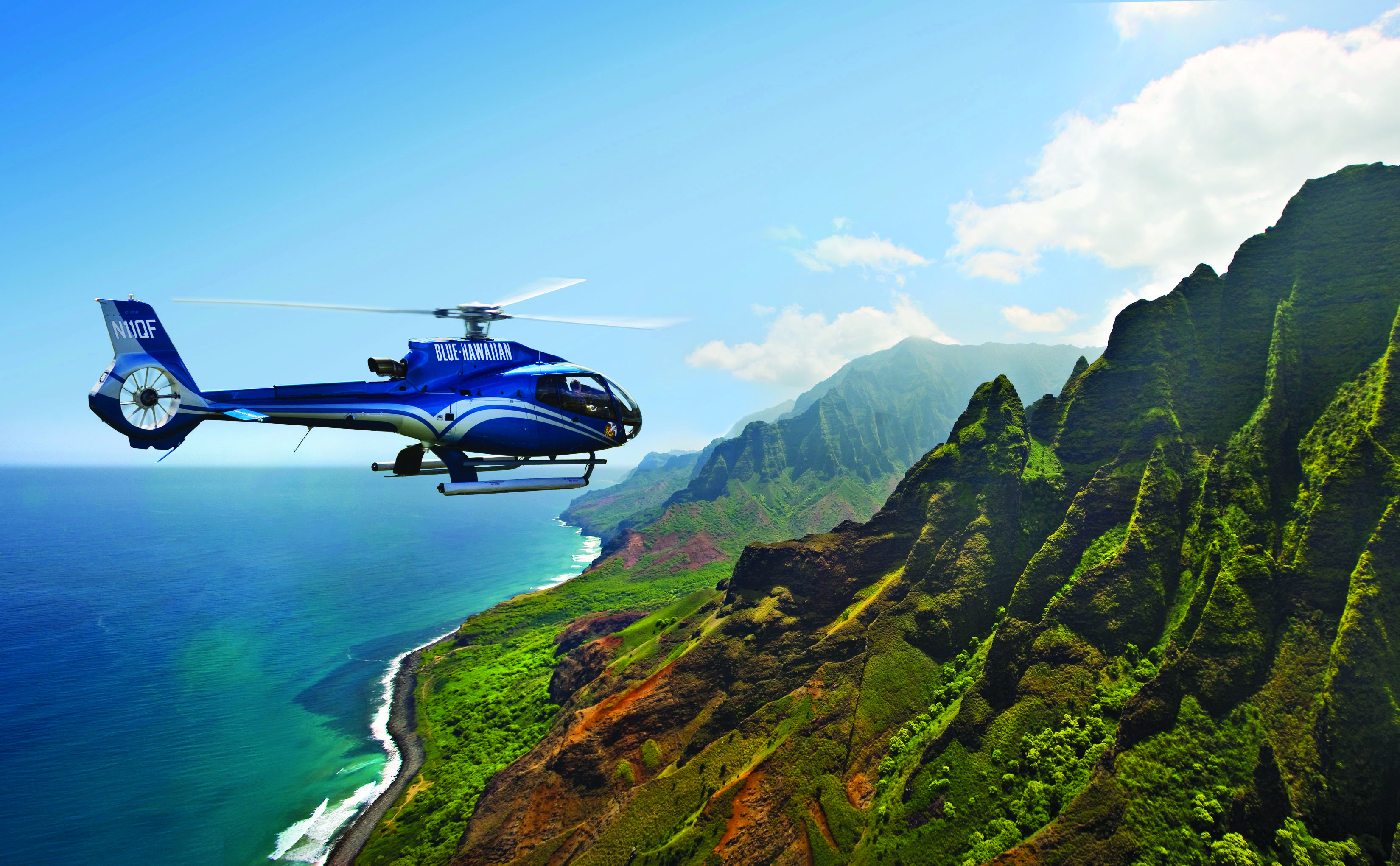 Aerial tour of the Big Island Hawaii