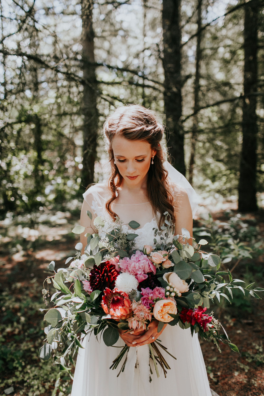 protea wedding bouquets dawn charles