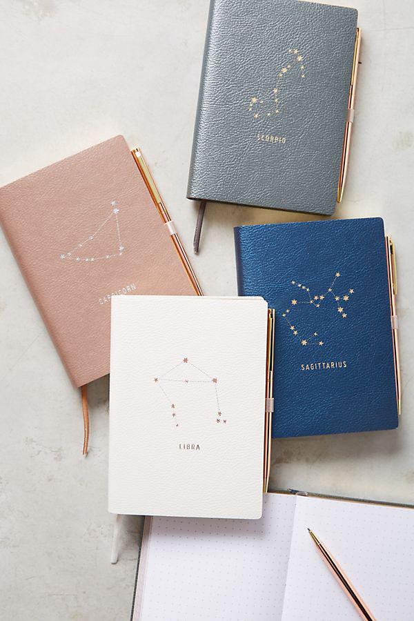 anthropologie zodiac journal