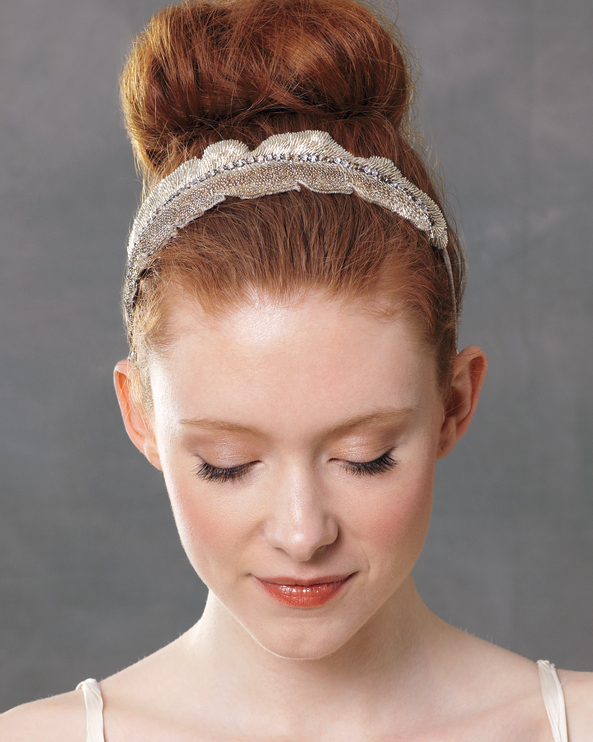 Dolled-Up Topknot