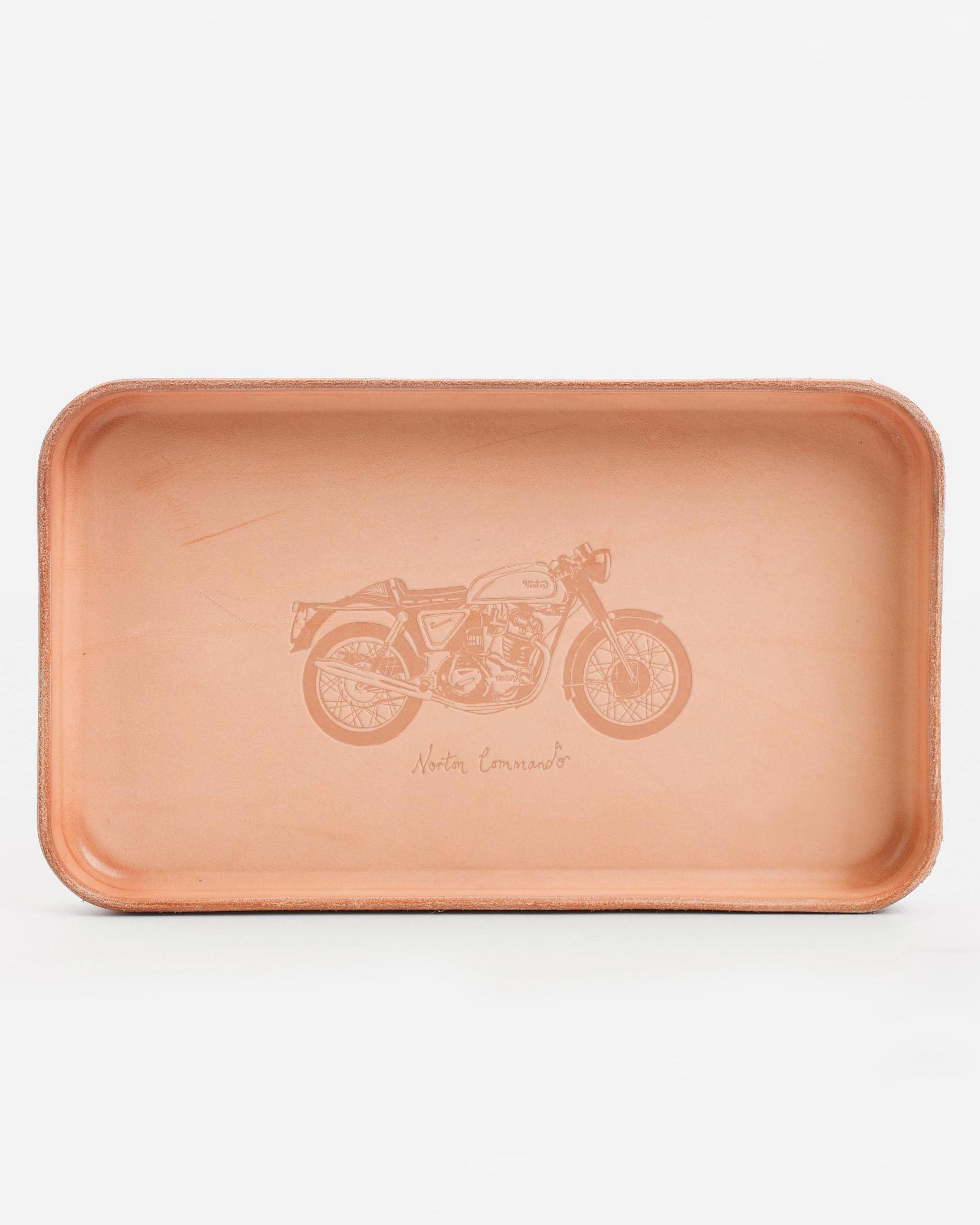billykirk leather valet tray
