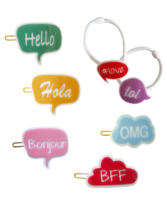 flower girl gift guide aha life bubble hair accessories set