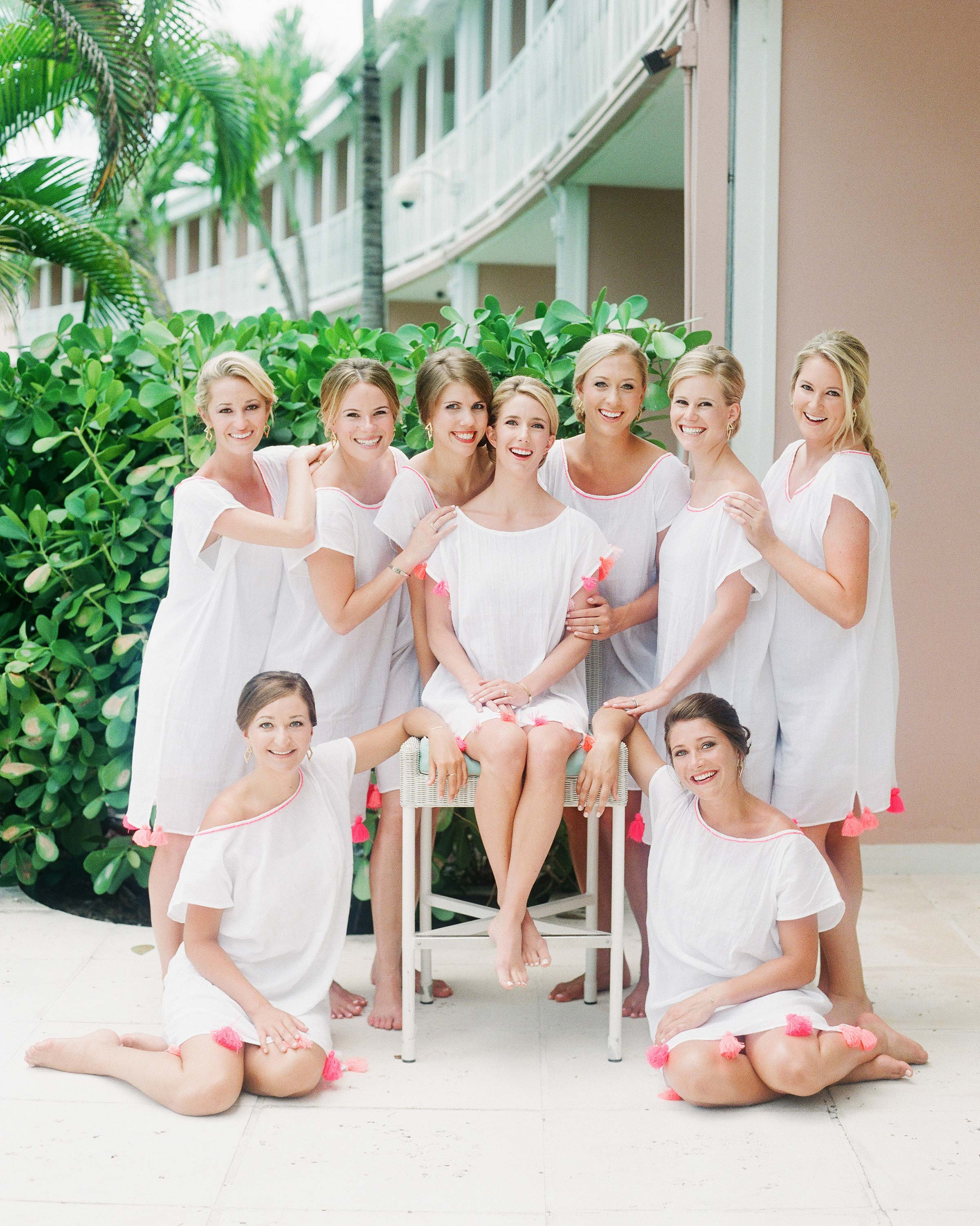 Bridesmaids Robes Alternatives To Set You And Your Maids Apart Martha Stewart Weddings