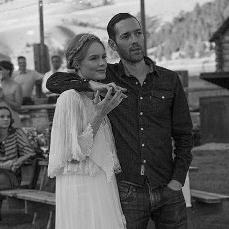 Michael Polish posted an Instagram in honor of his wedding anniversary to Kate Bosworth