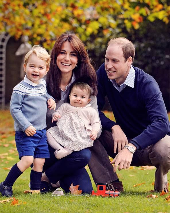 Prince William, Duchess Kate, Prince George, and Princess Charlotte