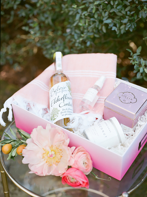 Spa Goodies bachelorette party favors