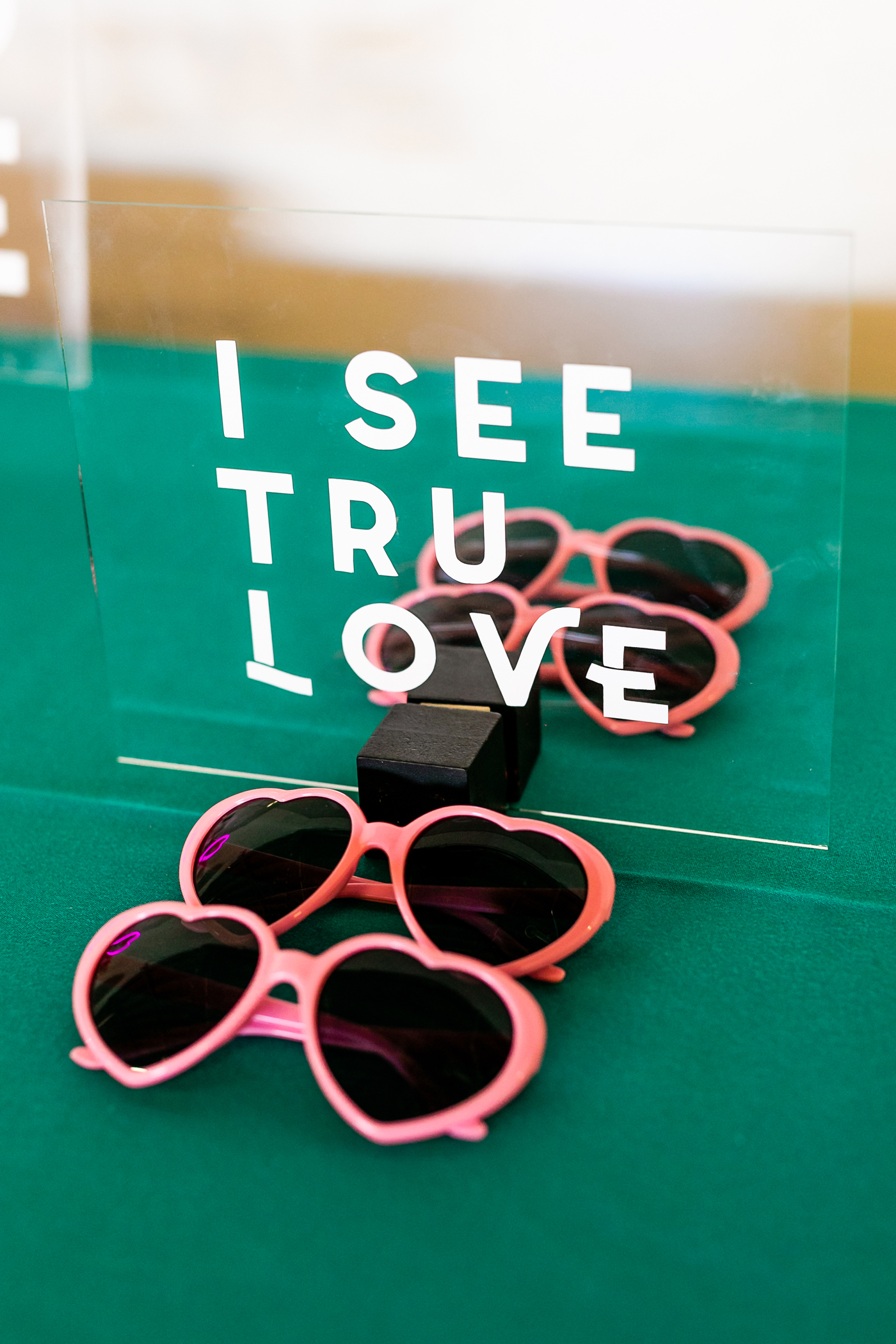 Heart Sunglasses bachelorette party favors