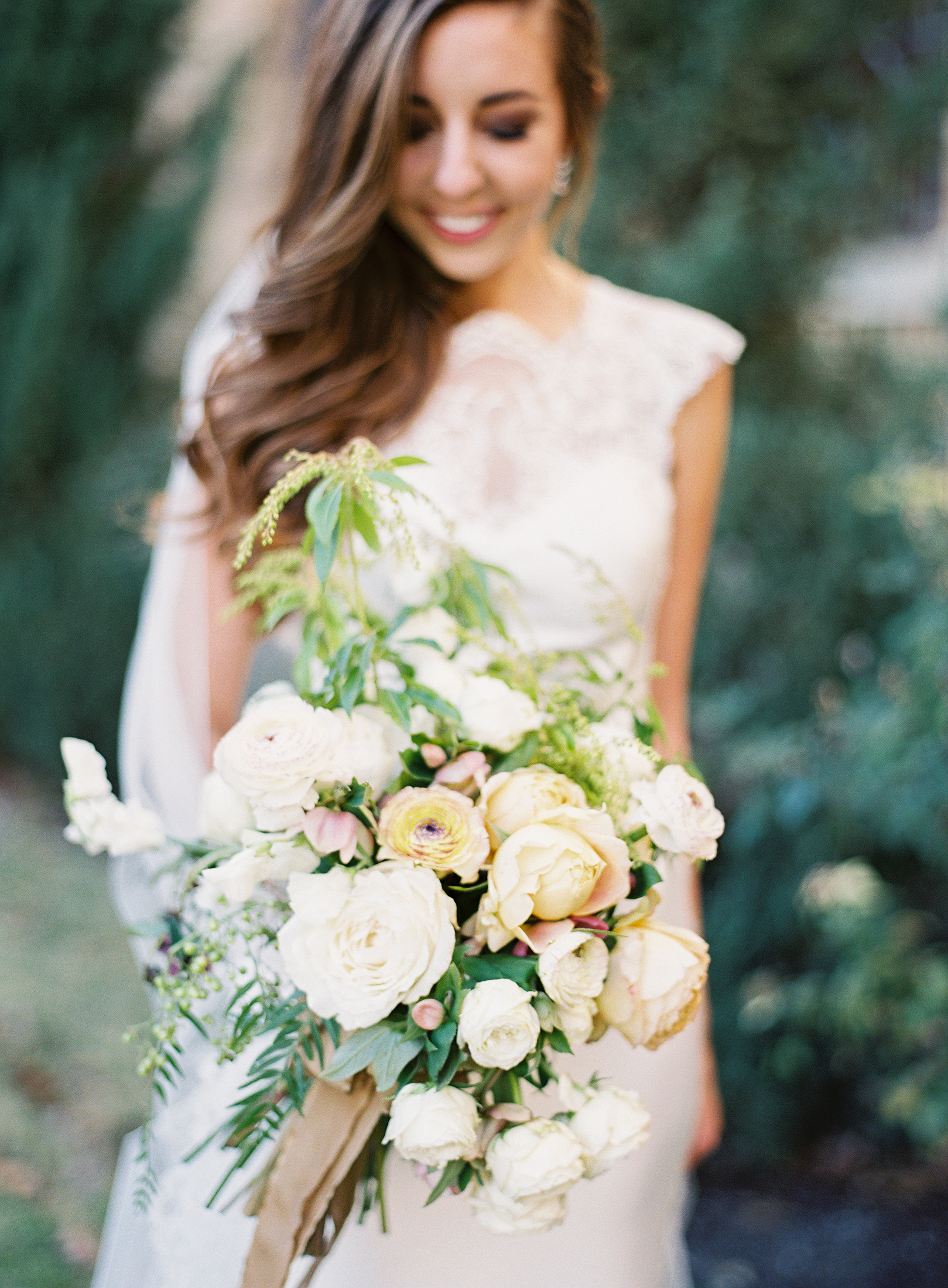 afton travers wedding bouquet