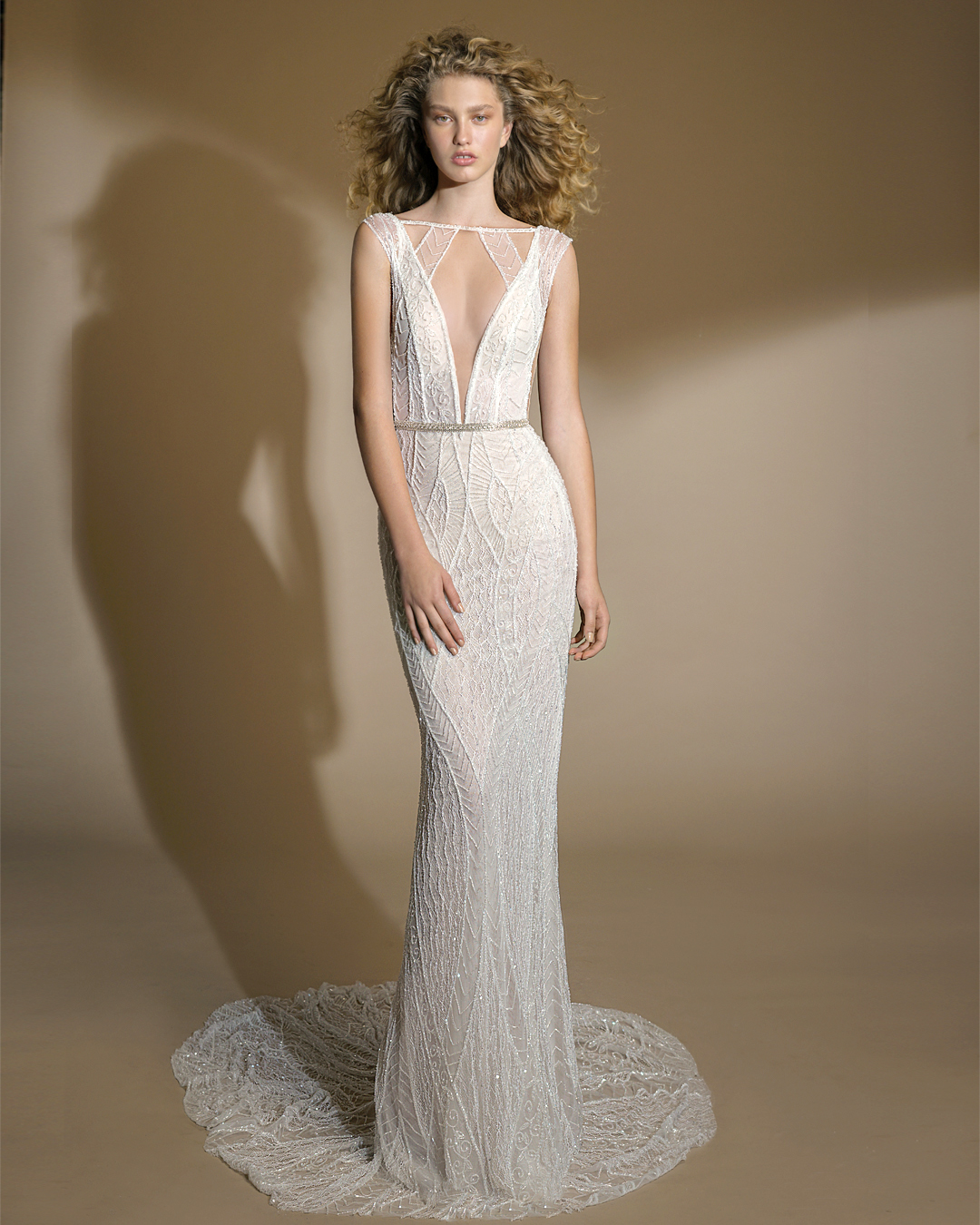 galia lahav gala wedding dress spring 2019 v-neck mermaid