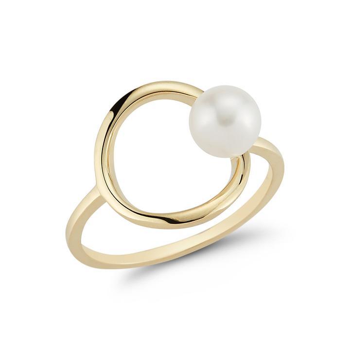 Mateo 14-Karat Gold Pearl Ring