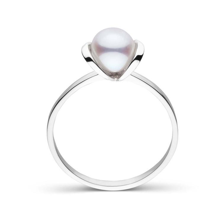 """Pearl Paradise Bonita Collection """"Akoya"""" Pearl Ring"""
