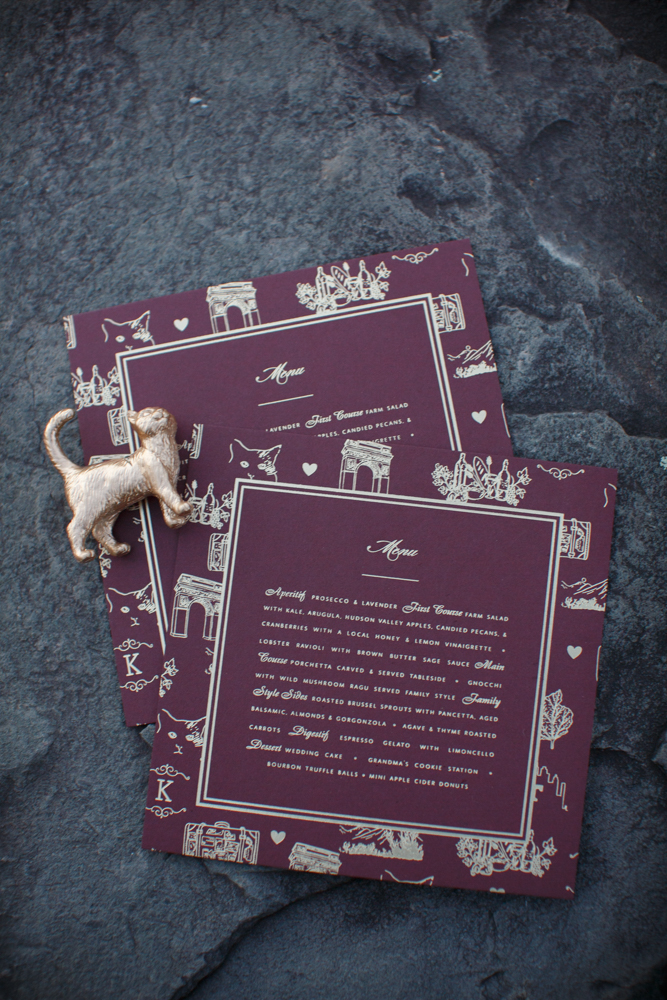 Pet-Patterned Menus