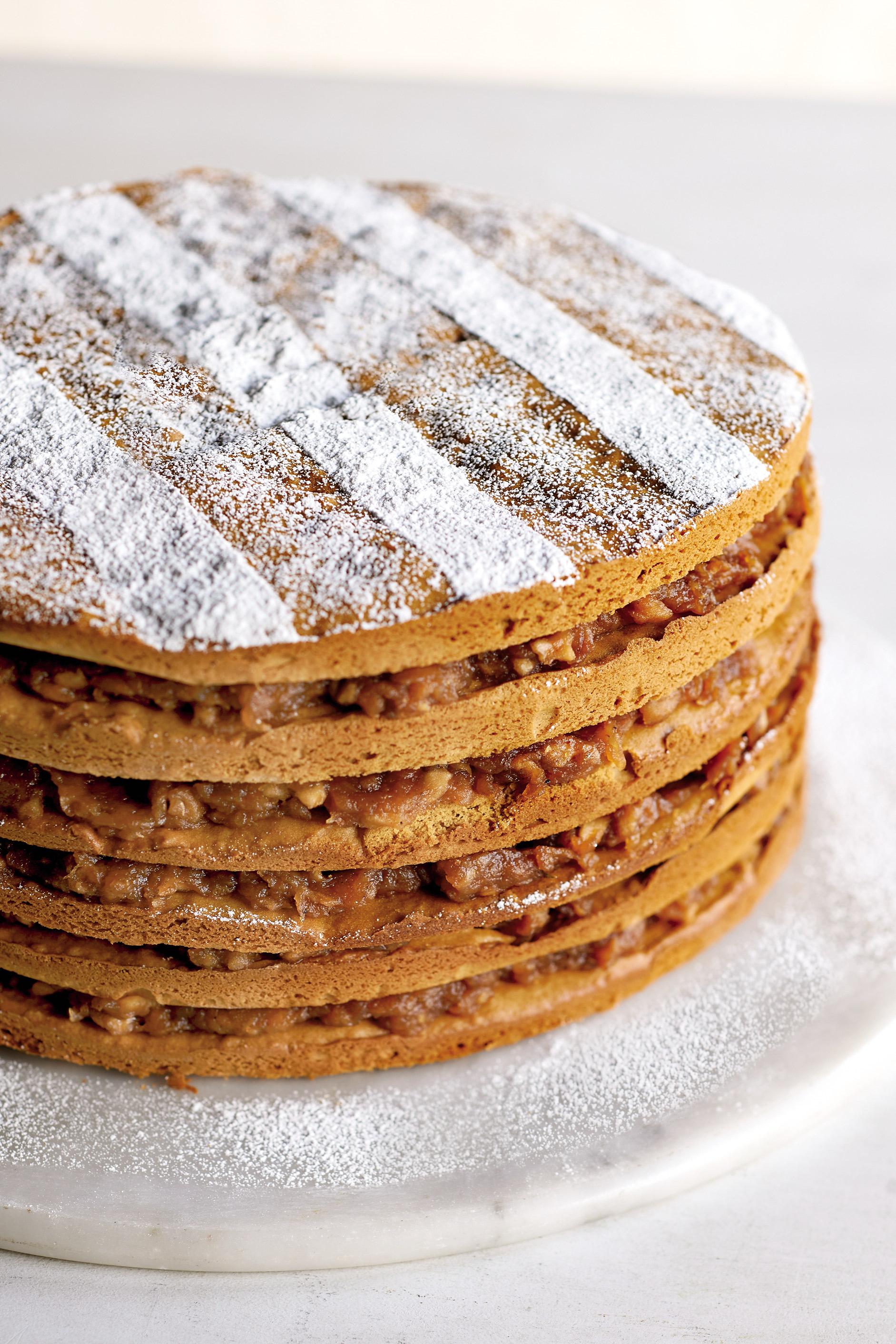 anne byrn cake apple stack