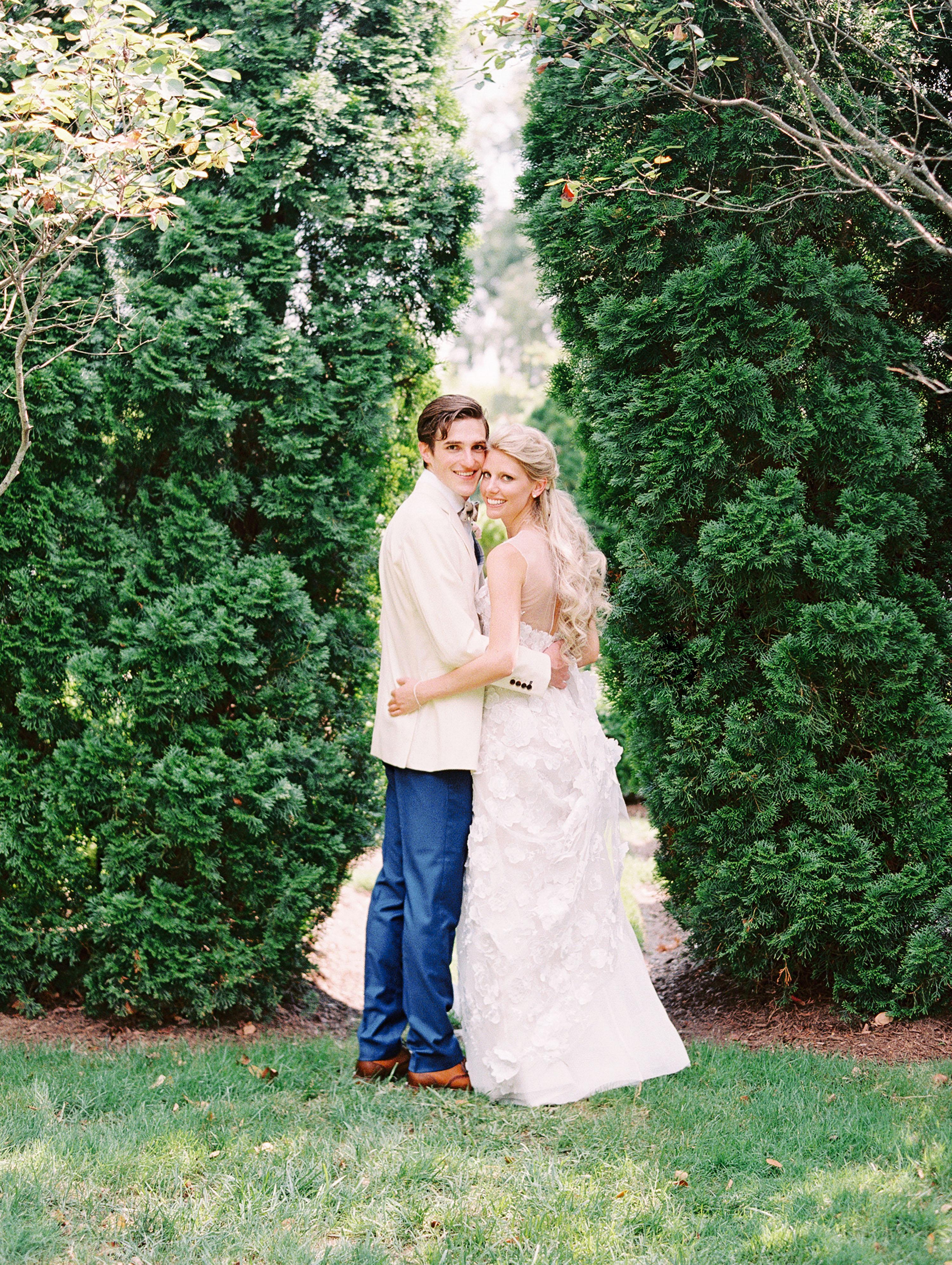 stephanie philip wedding couple