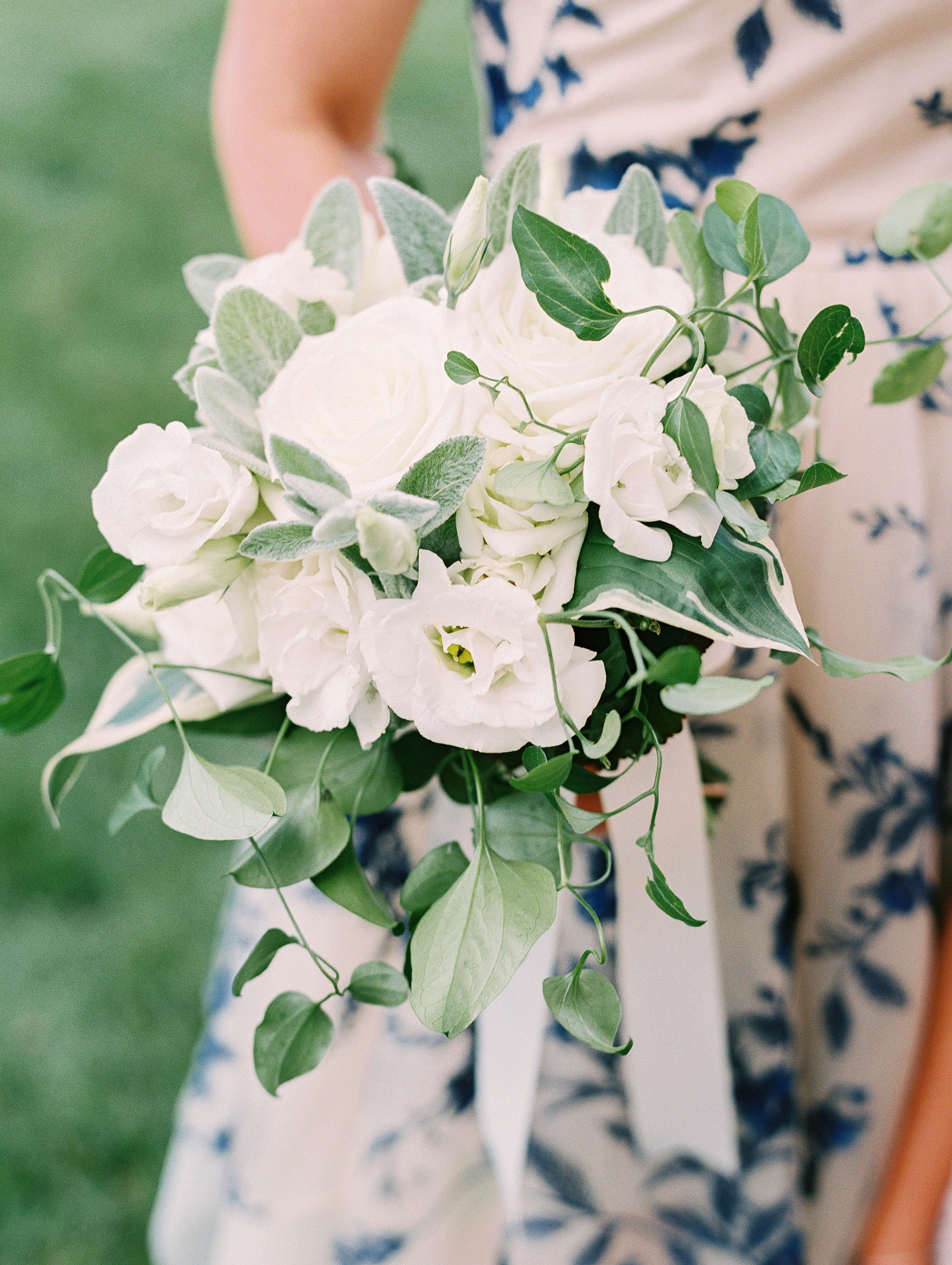 stephanie philip wedding bouquet