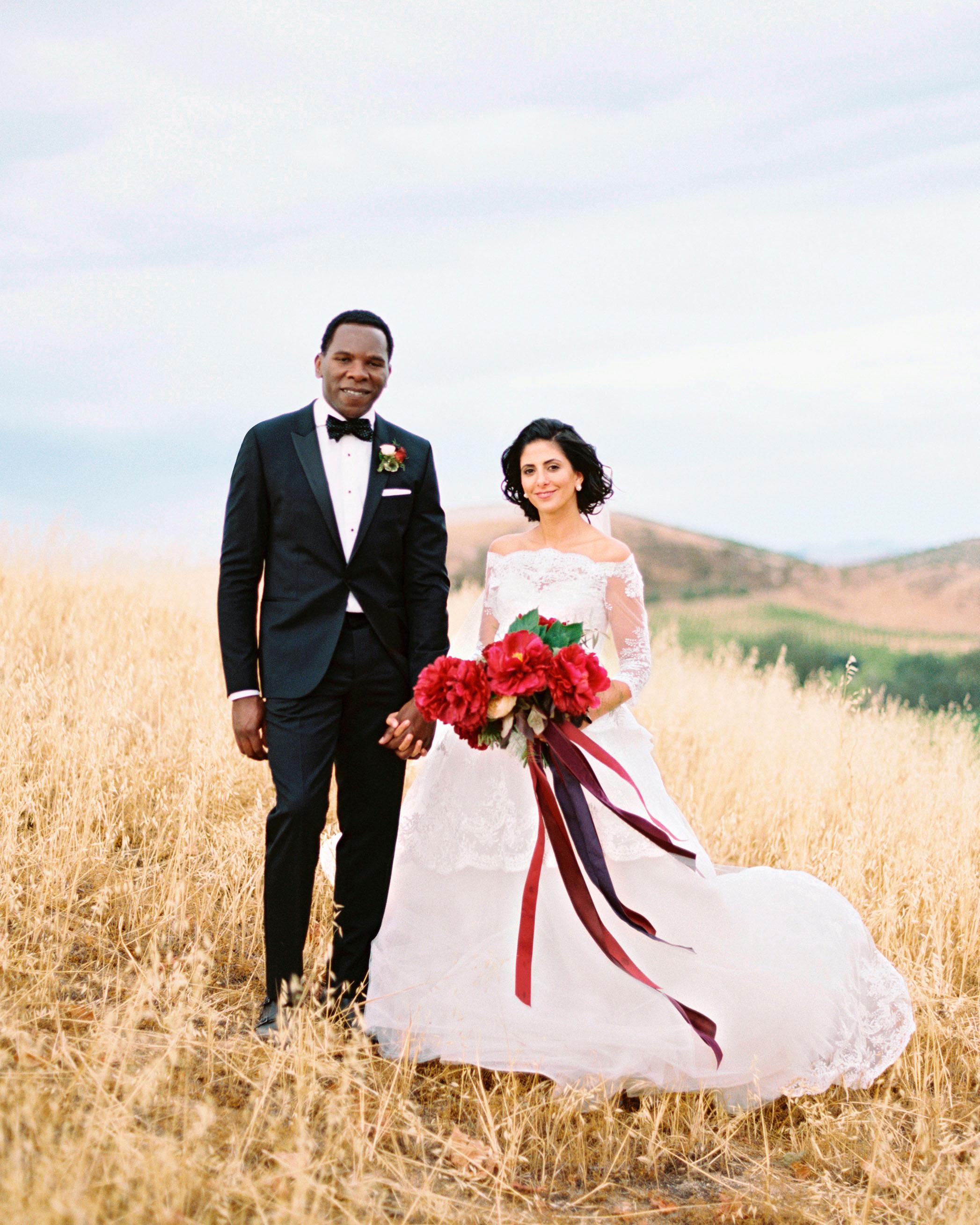 hana olu wedding california portrait