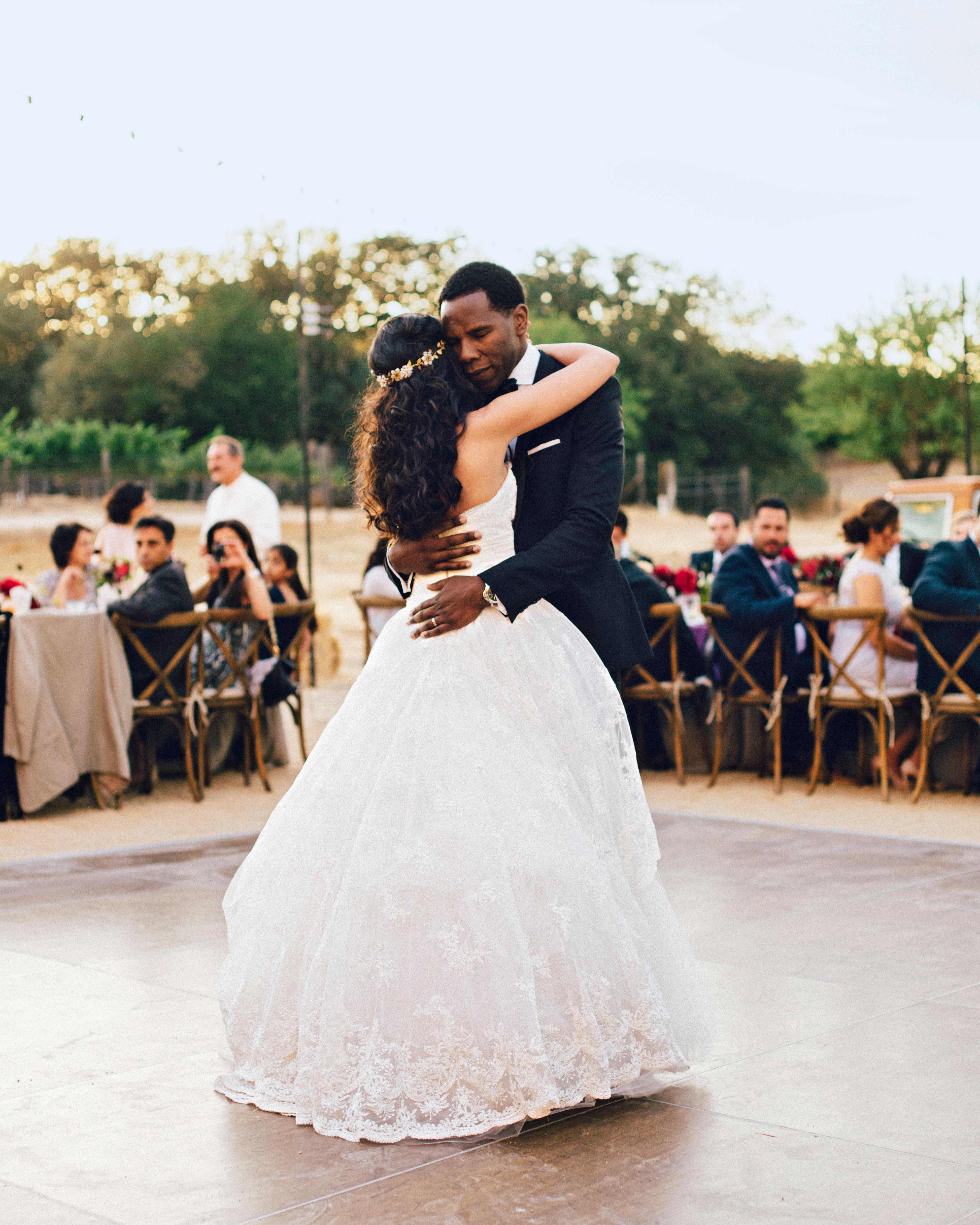 hana olu wedding california first dance
