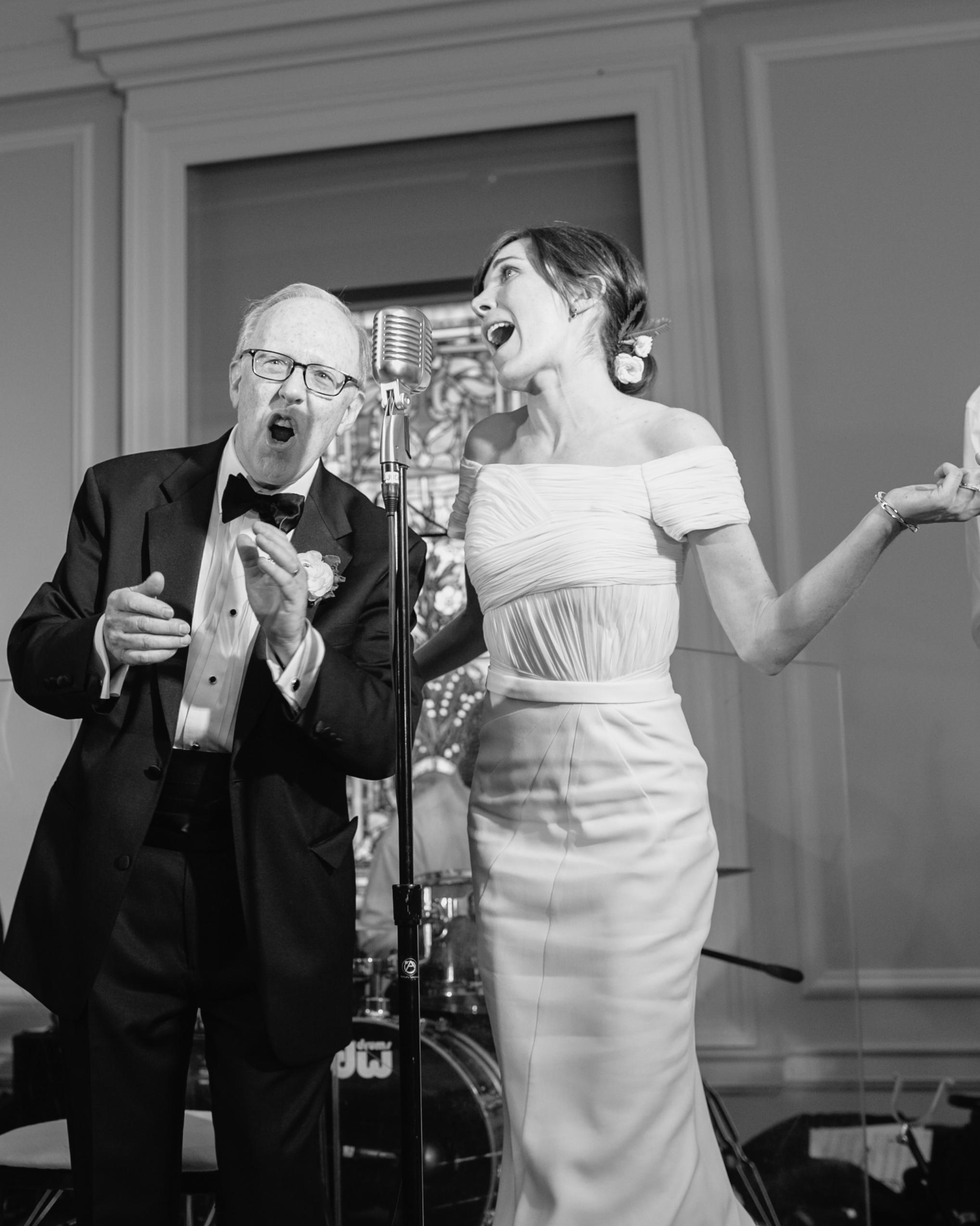 wedding singing