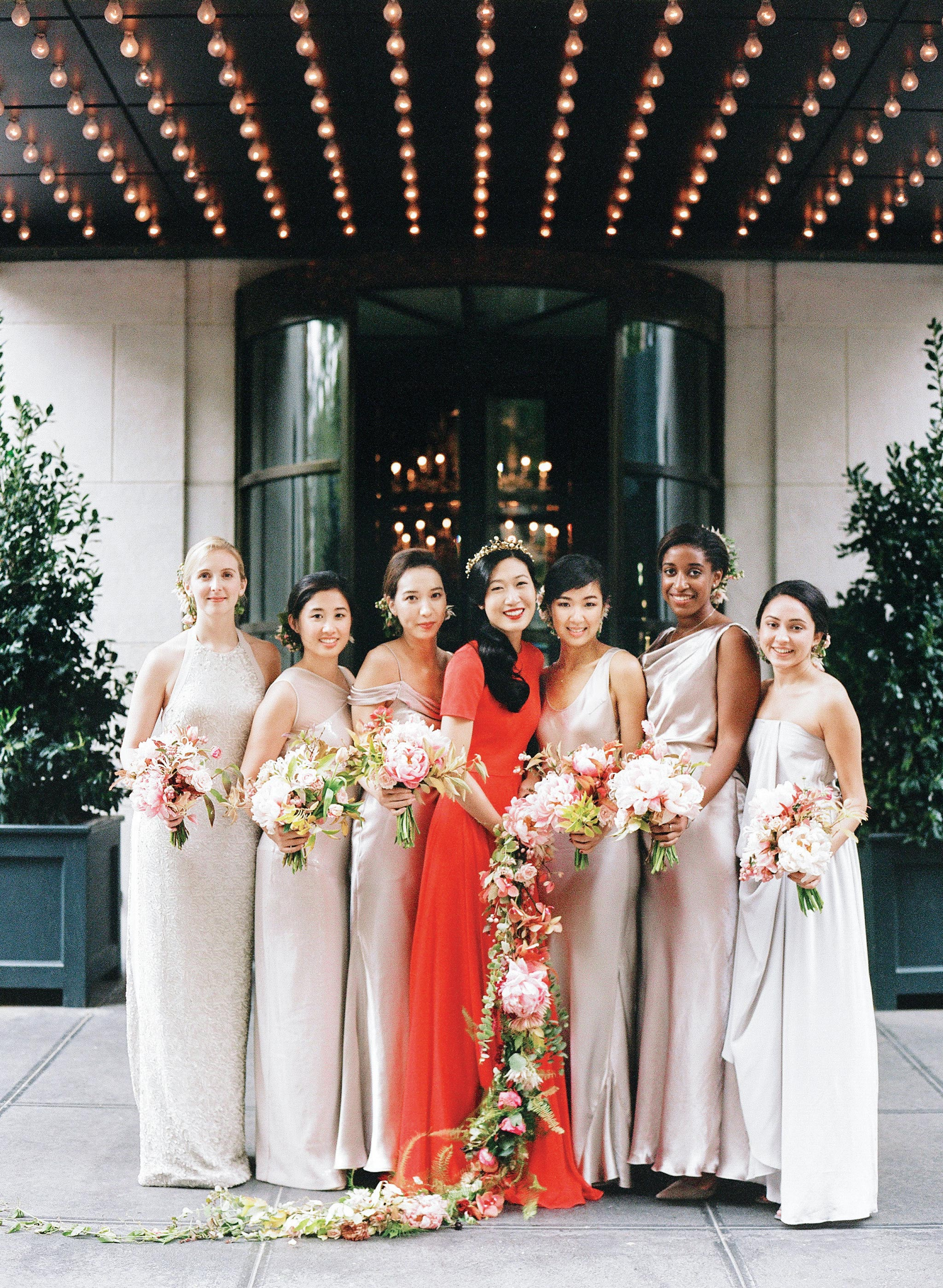 glara matthew wedding bridesmaids