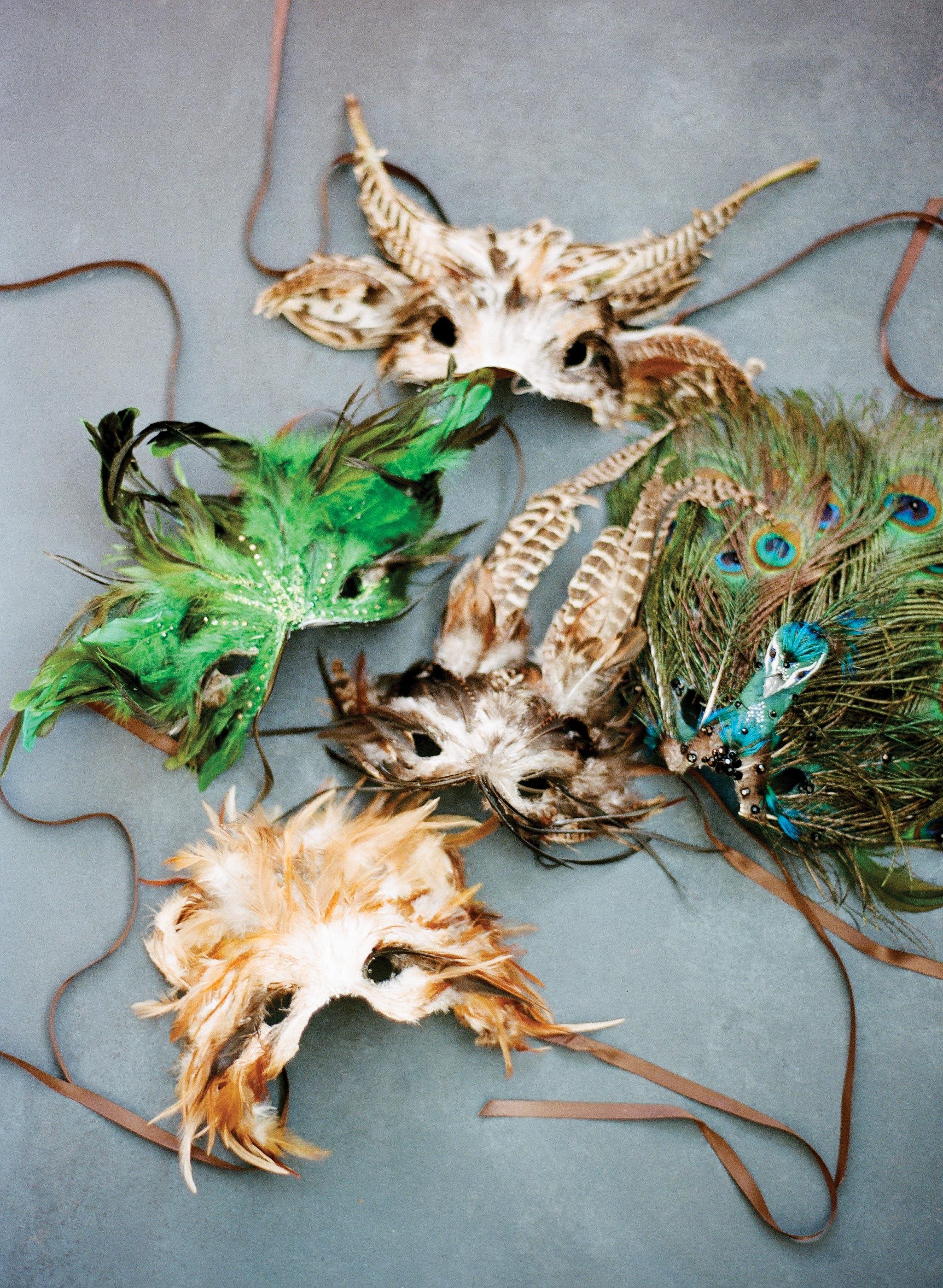 glara matthew wedding masks photo booth
