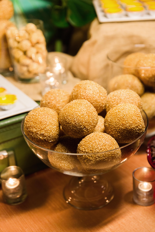 glara matthew wedding dessert
